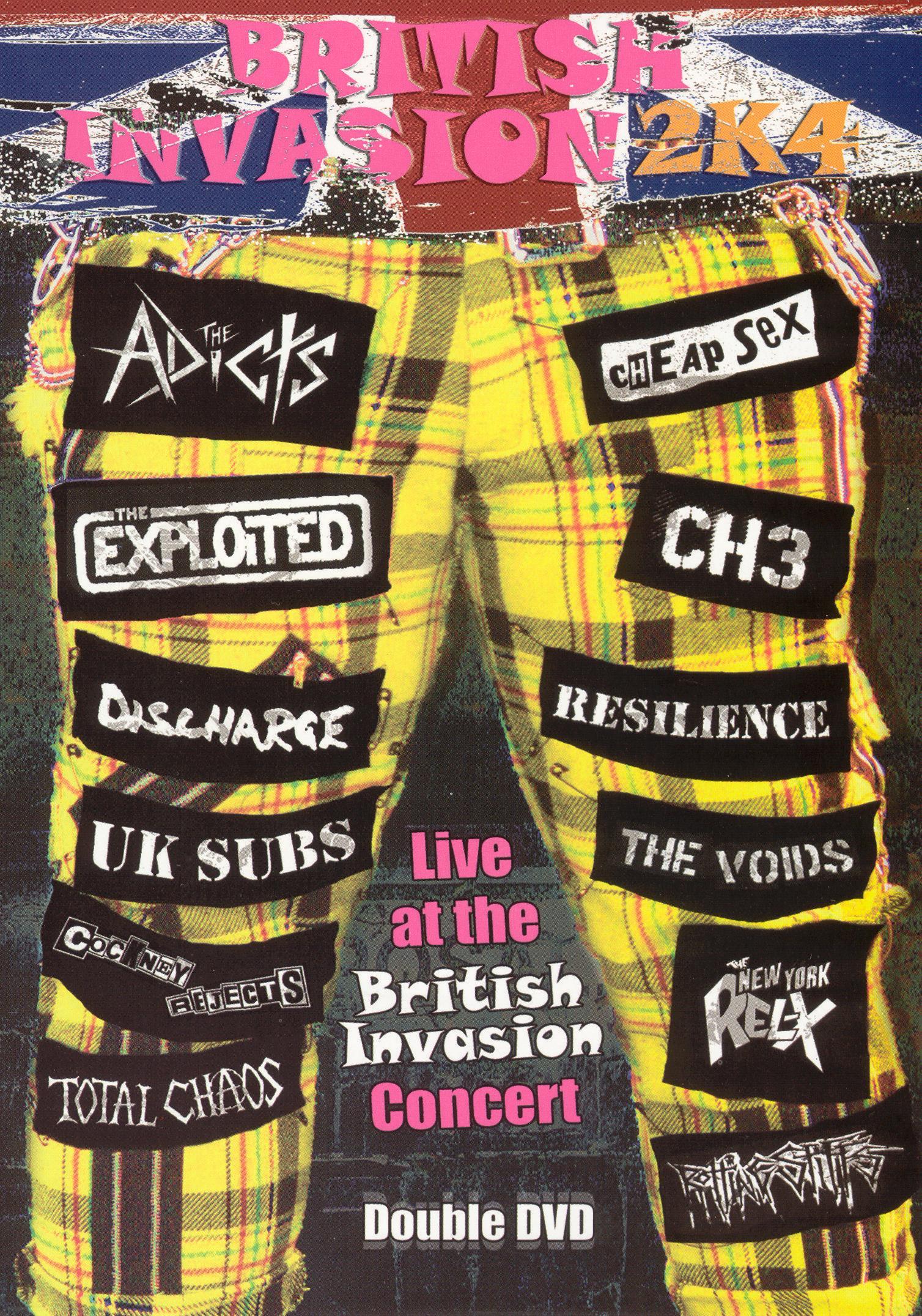 British Invasion 2K4 Live