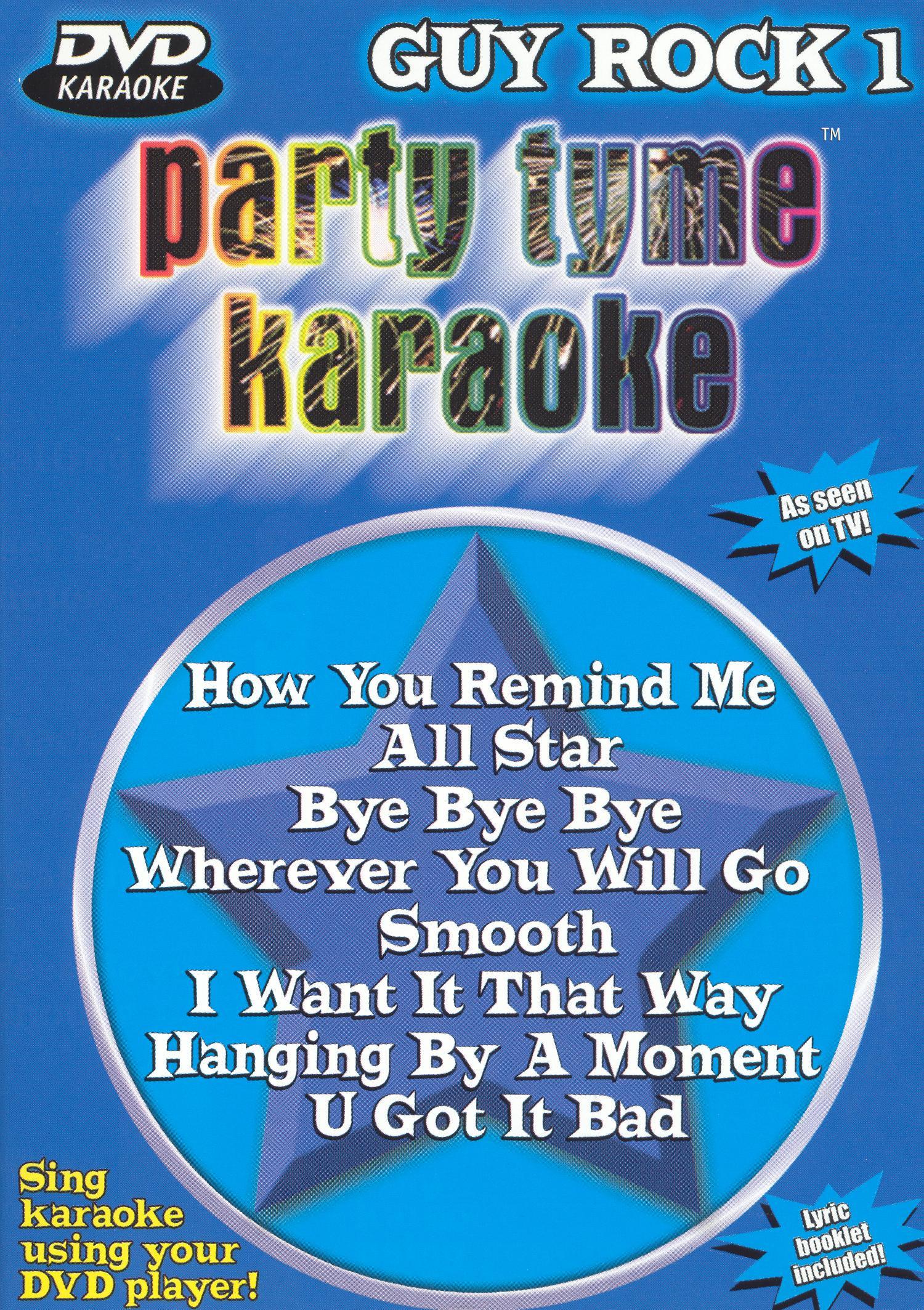 Party Tyme Karaoke: Guy Rock, Vol. 1