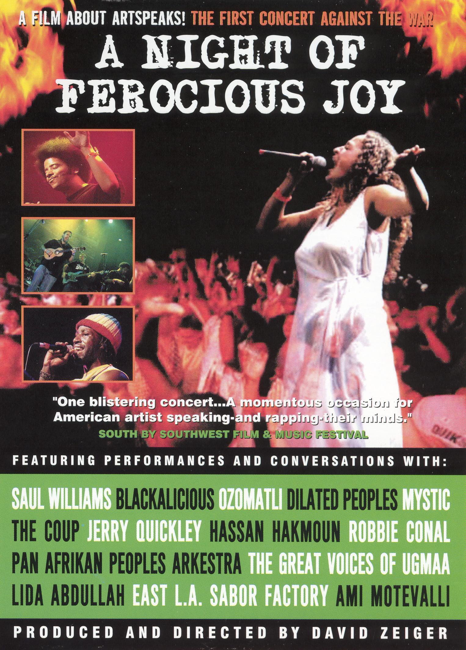 A Night of Ferocious Joy