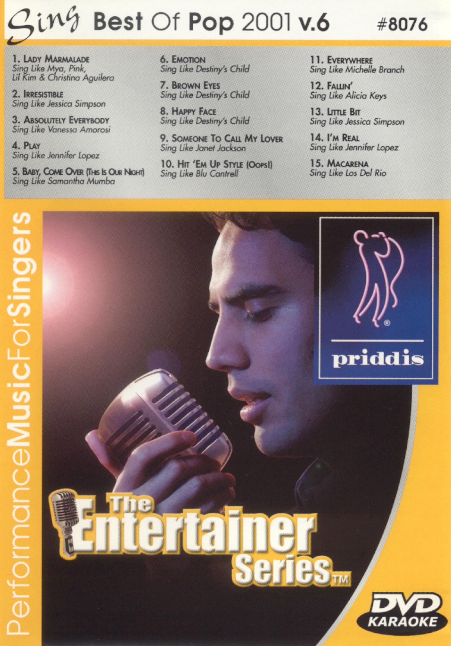 Best of Pop 2001, Vol. 6