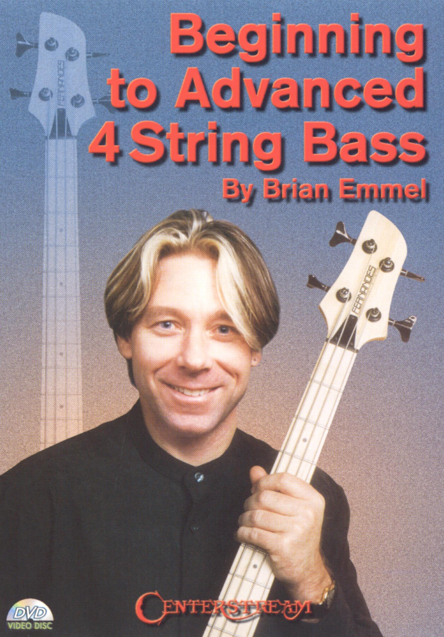 Brian Emmel: Beginning To Advanced 4-string Bass