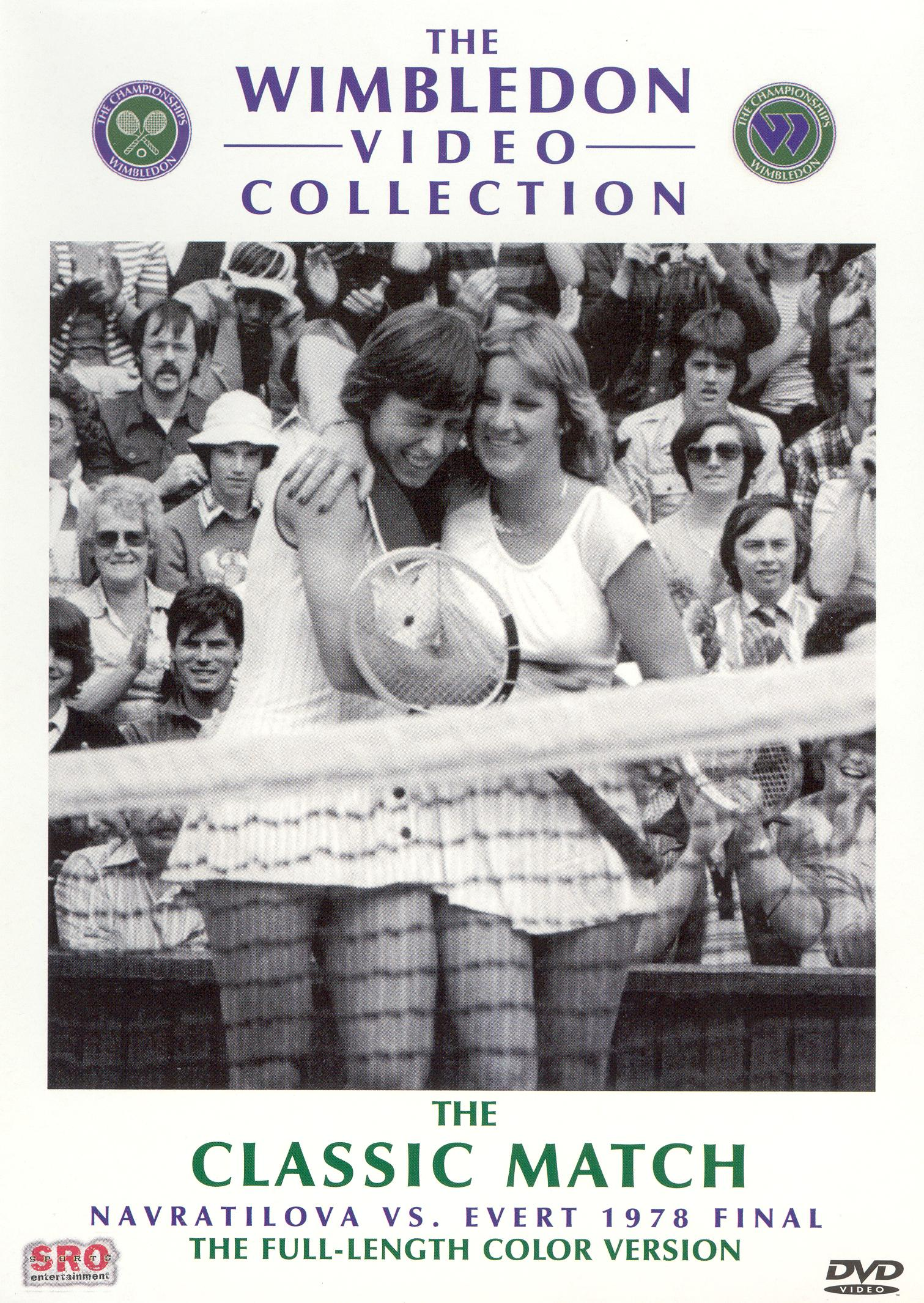 The Wimbledon Video Collection: The Classic Match - Navratilova vs. Evert 1978 Final
