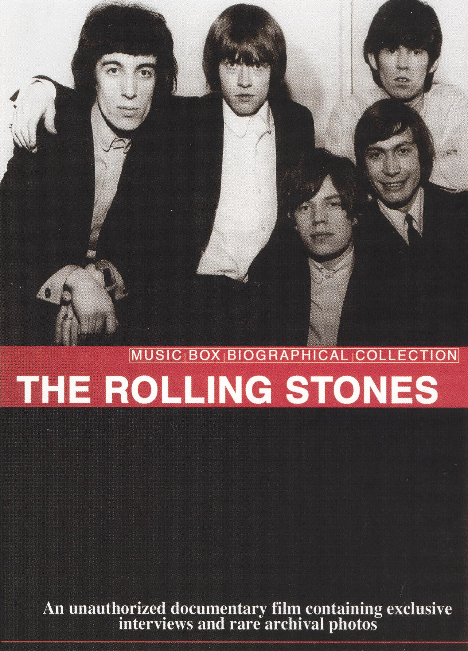Music Box Biographical Collection: The Rolling Stones