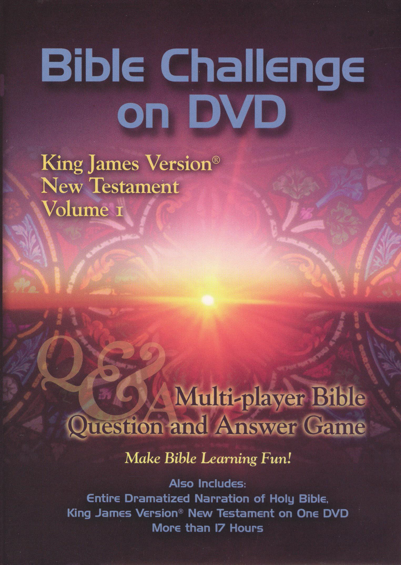 Bible Challenge on DVD: King James Version - New Testament, Vol. 1