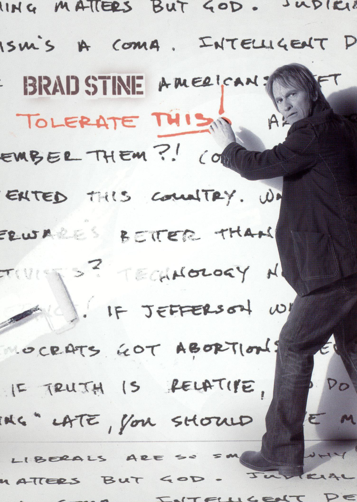 Brad Stine: Tolerate This!
