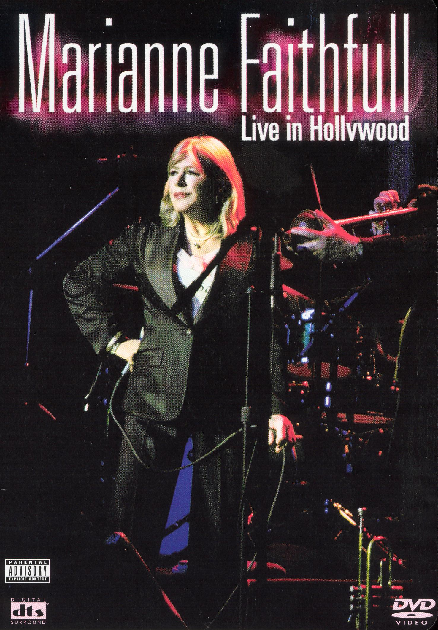 Marianne Faithfull: Live in Hollywood at the Henry Fonda Theater