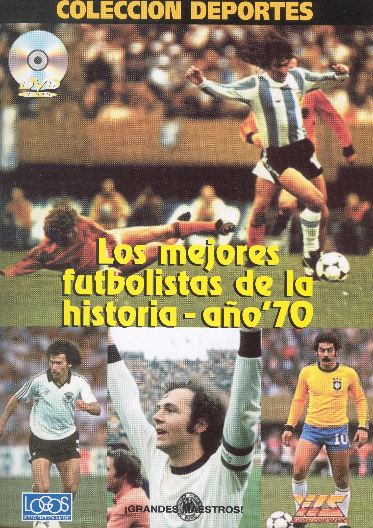 Los Mejores Futbolistas de la Historia - Ano '70