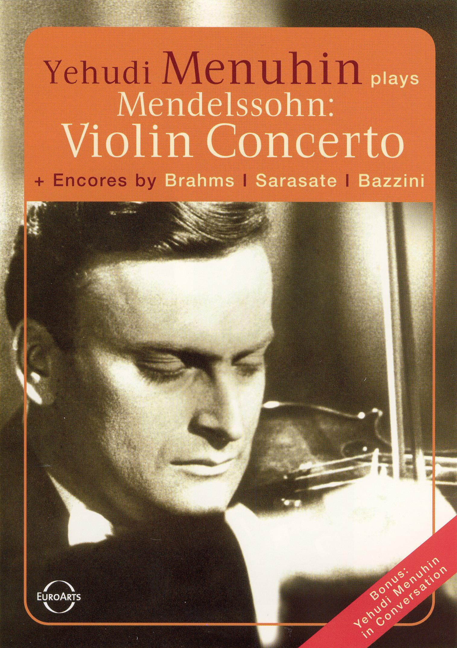 Yehudi Menuhin Plays Mendelssohn
