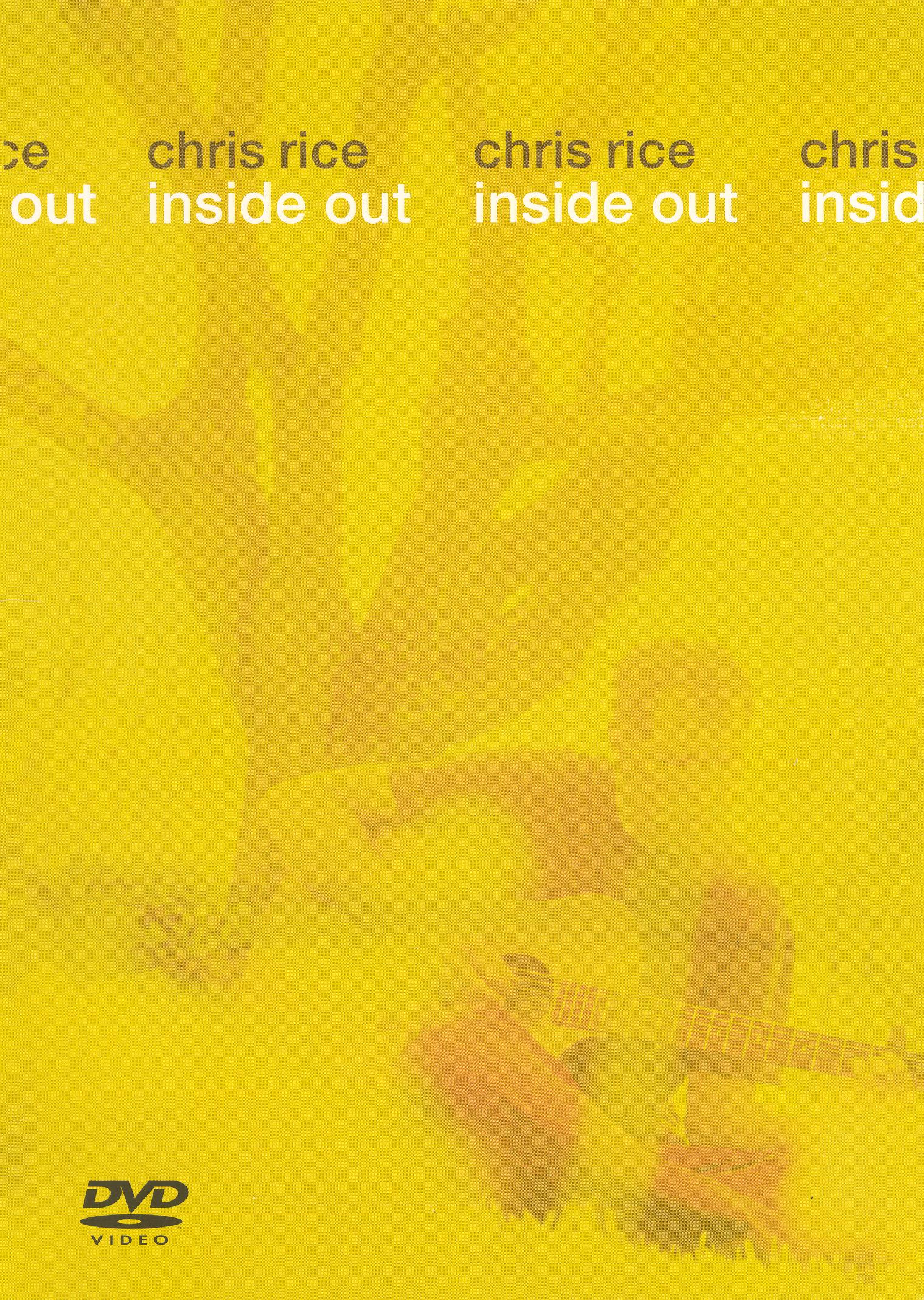 Chris Rice: Inside Out