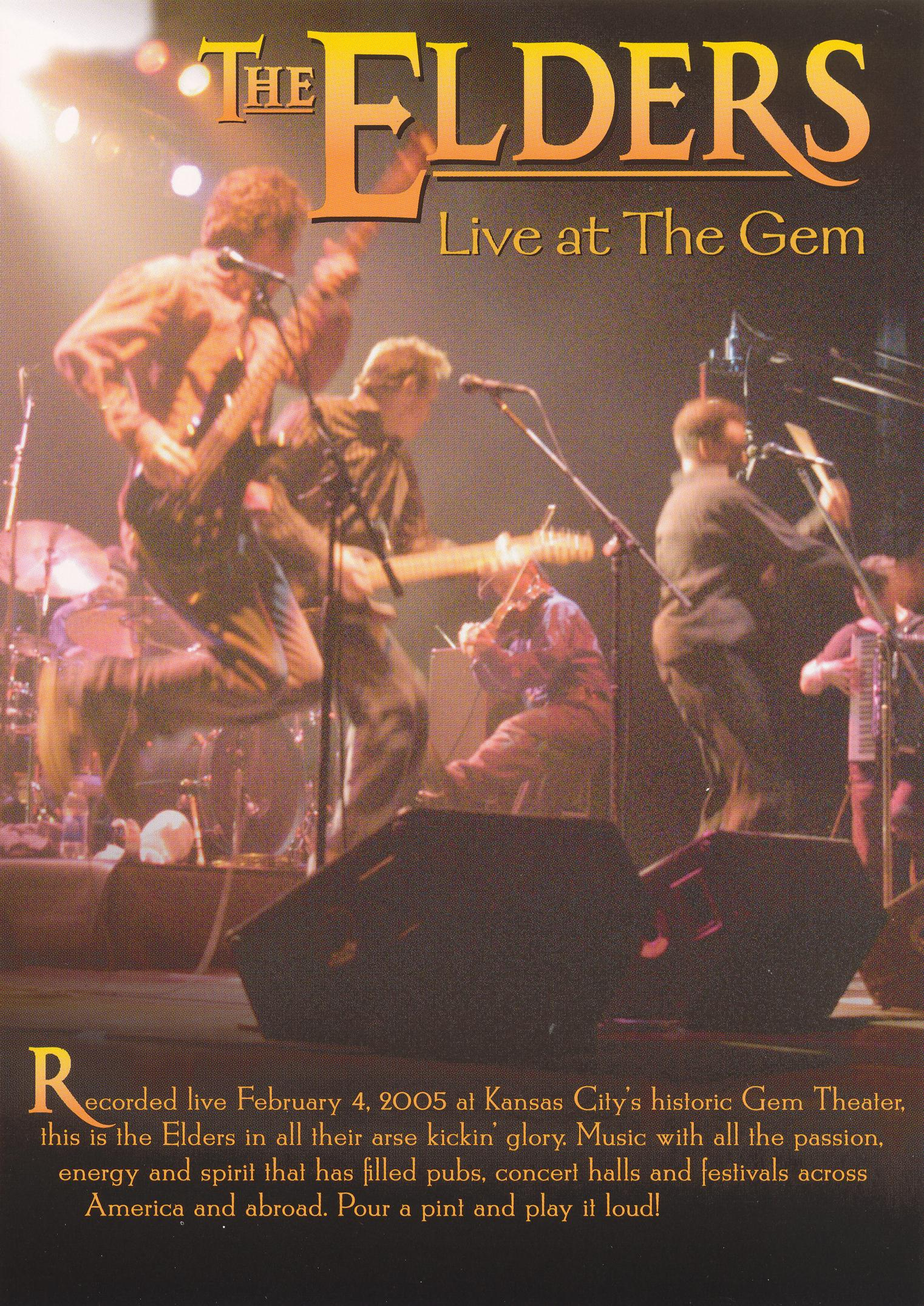 The Elders: Live at the Gem