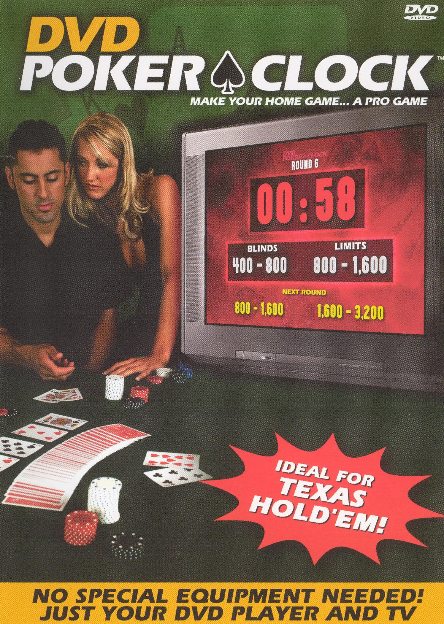 DVD Poker Clock