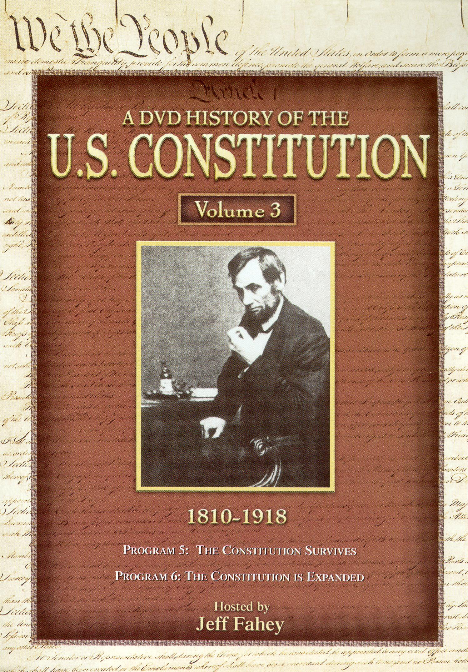 A DVD History of the U.S. Constitution, Vol. 3: 1810-1918