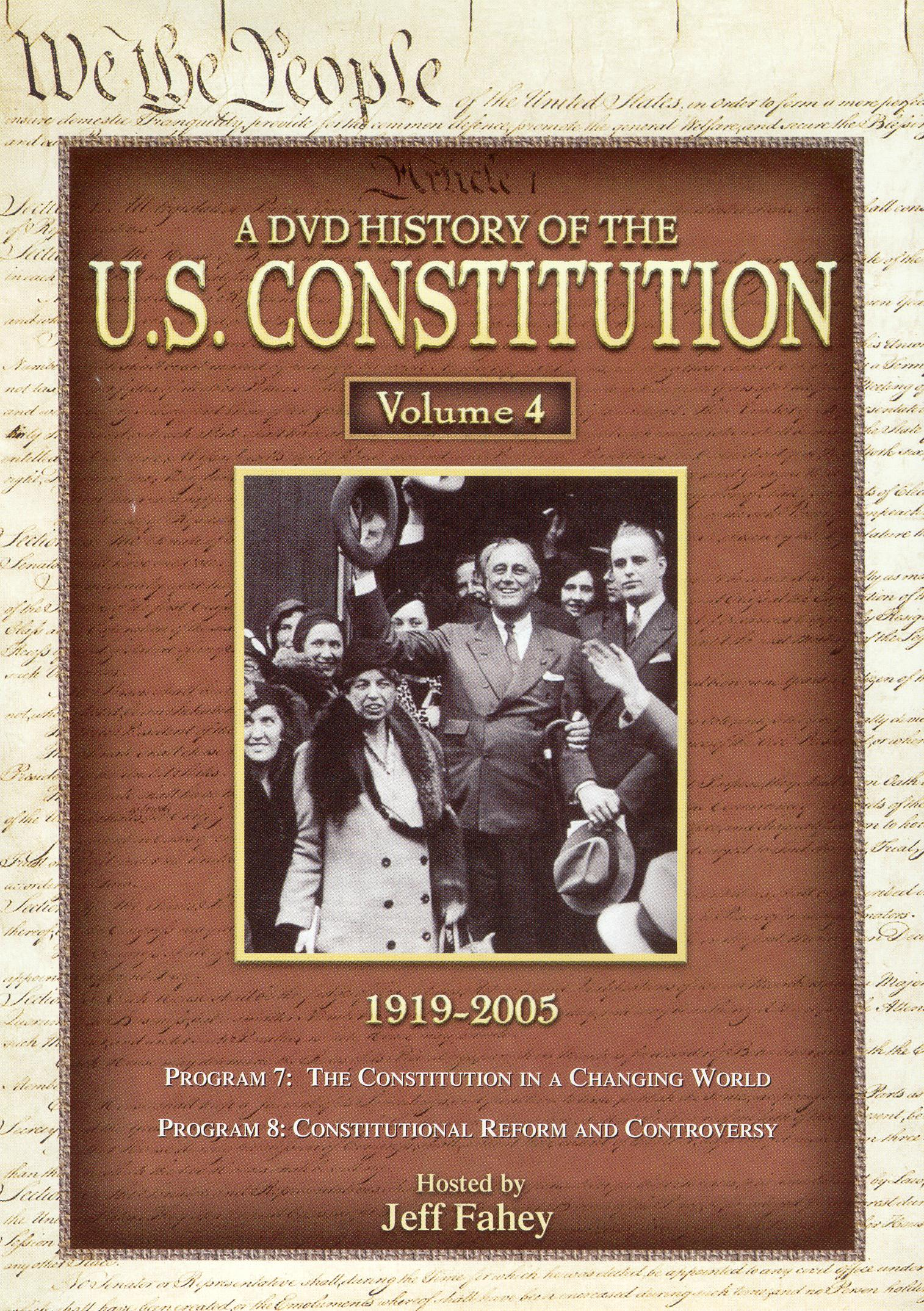 A DVD History of the U.S. Constitution, Vol. 4: 1919-2005