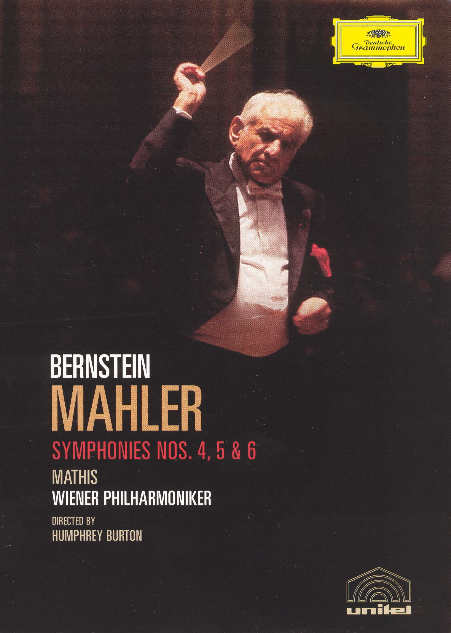 Bernstein: Mahler - Symphonies 4, 5 & 6