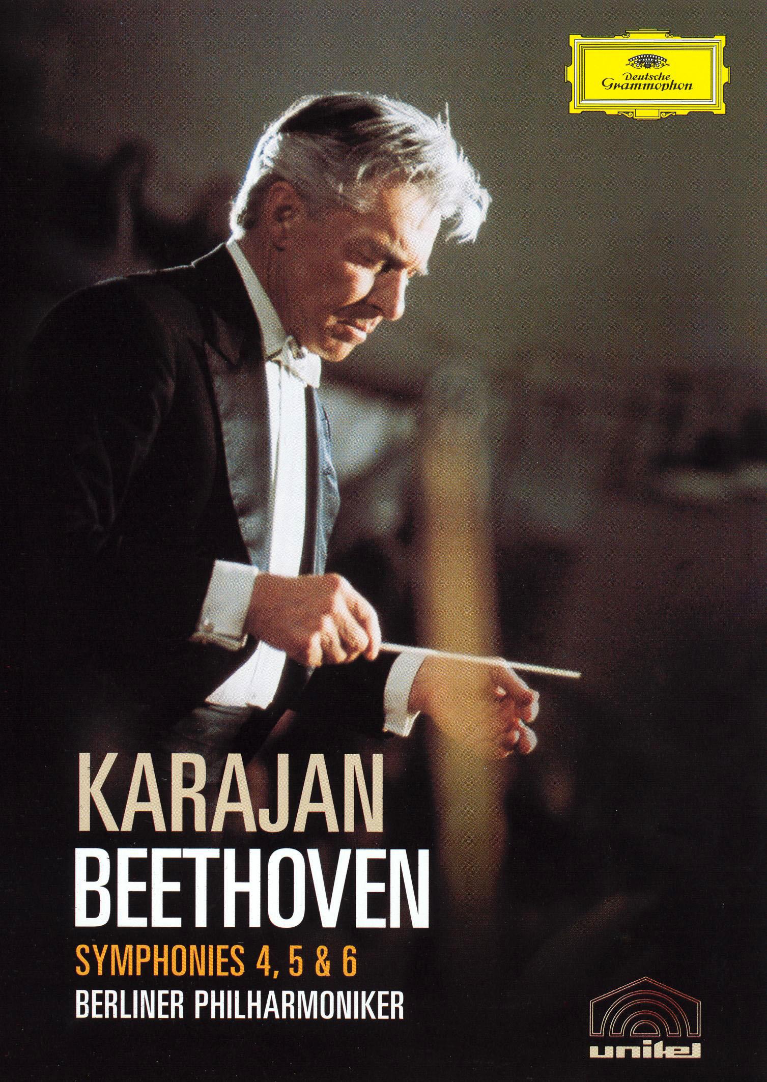 Herbert Von Karajan: Beethoven - Symphonies 4, 5 & 6