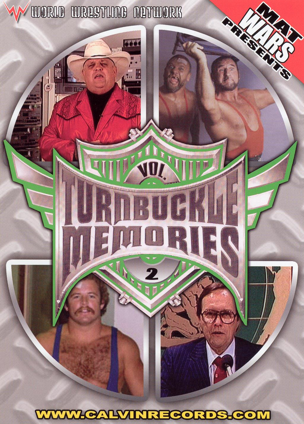 Turnbuckle Memories, Vol. 2