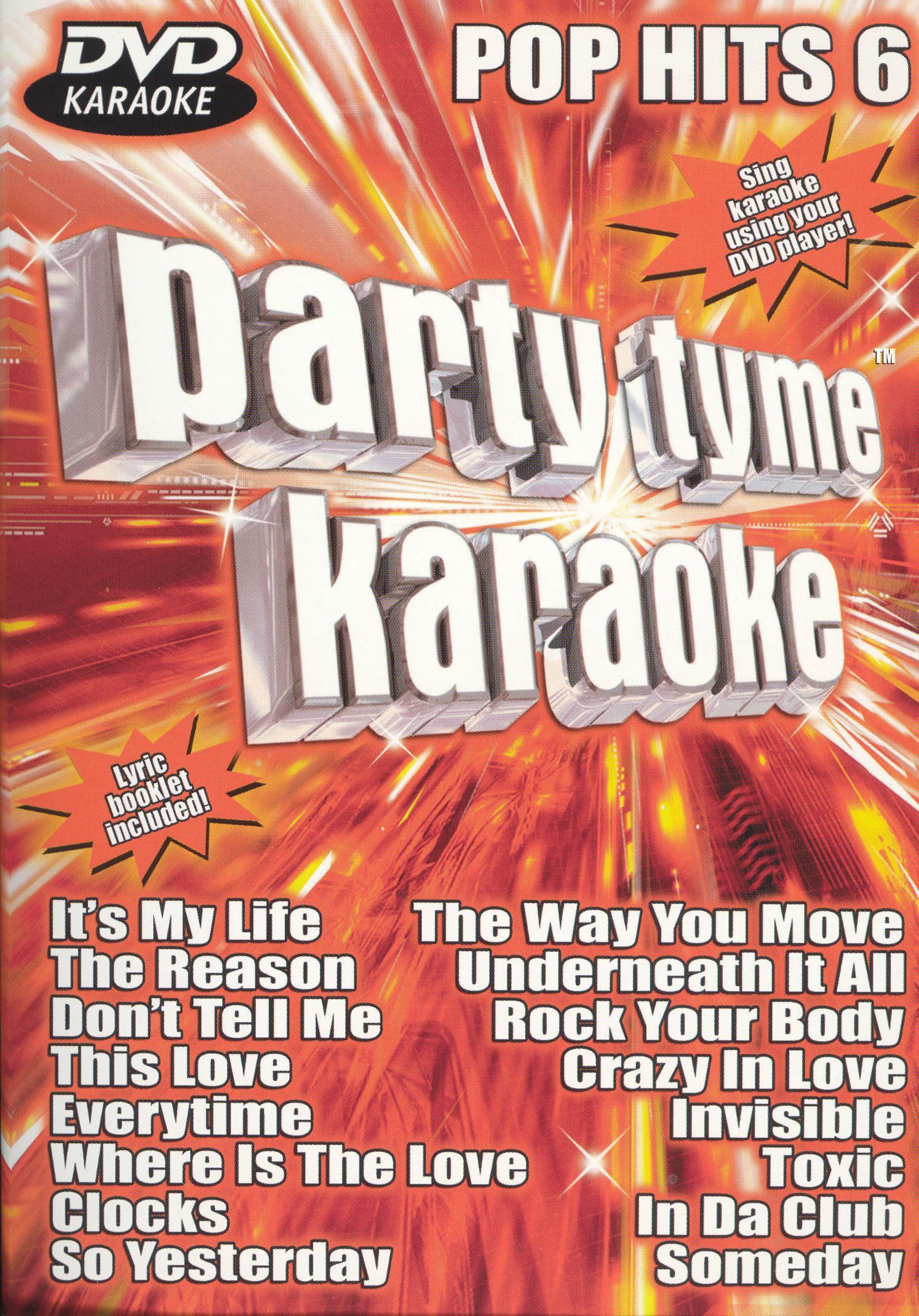 Party Tyme Karaoke: Pop Hits, Vol. 6