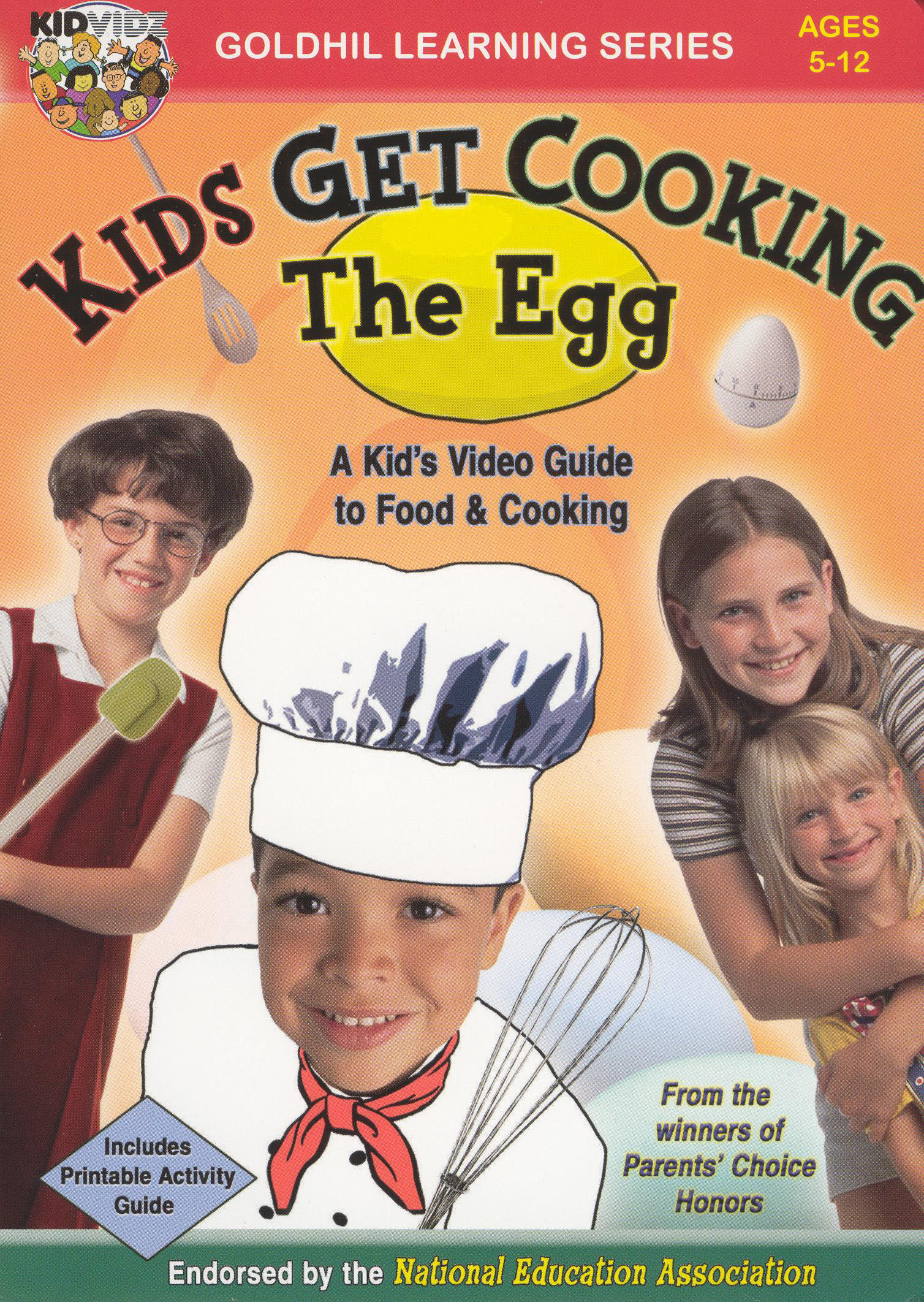 Kids Get Cooking: The Egg