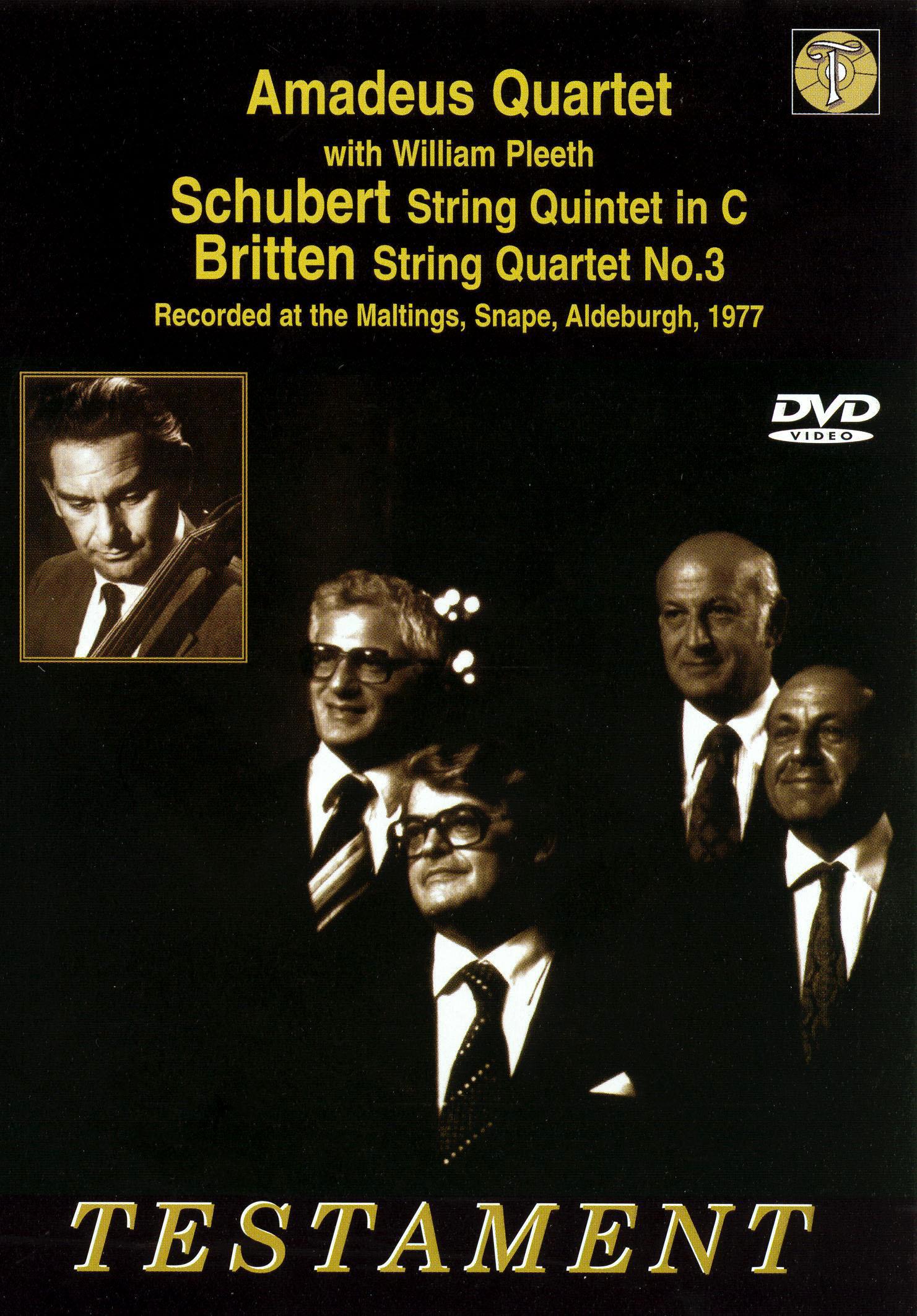 Schubert: String Quintet in C/Britten: String Quartet no. 3