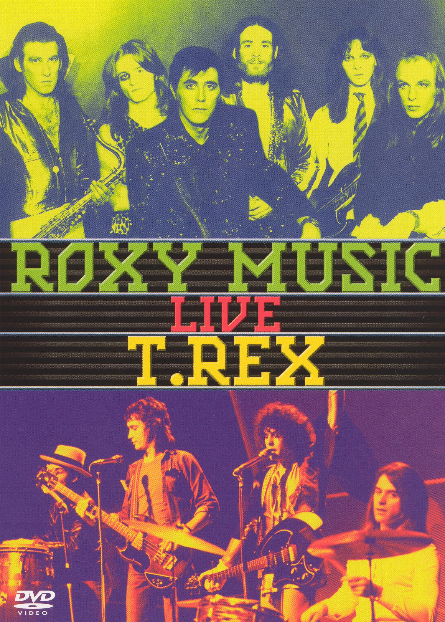 Roxy Music/T. Rex: Live