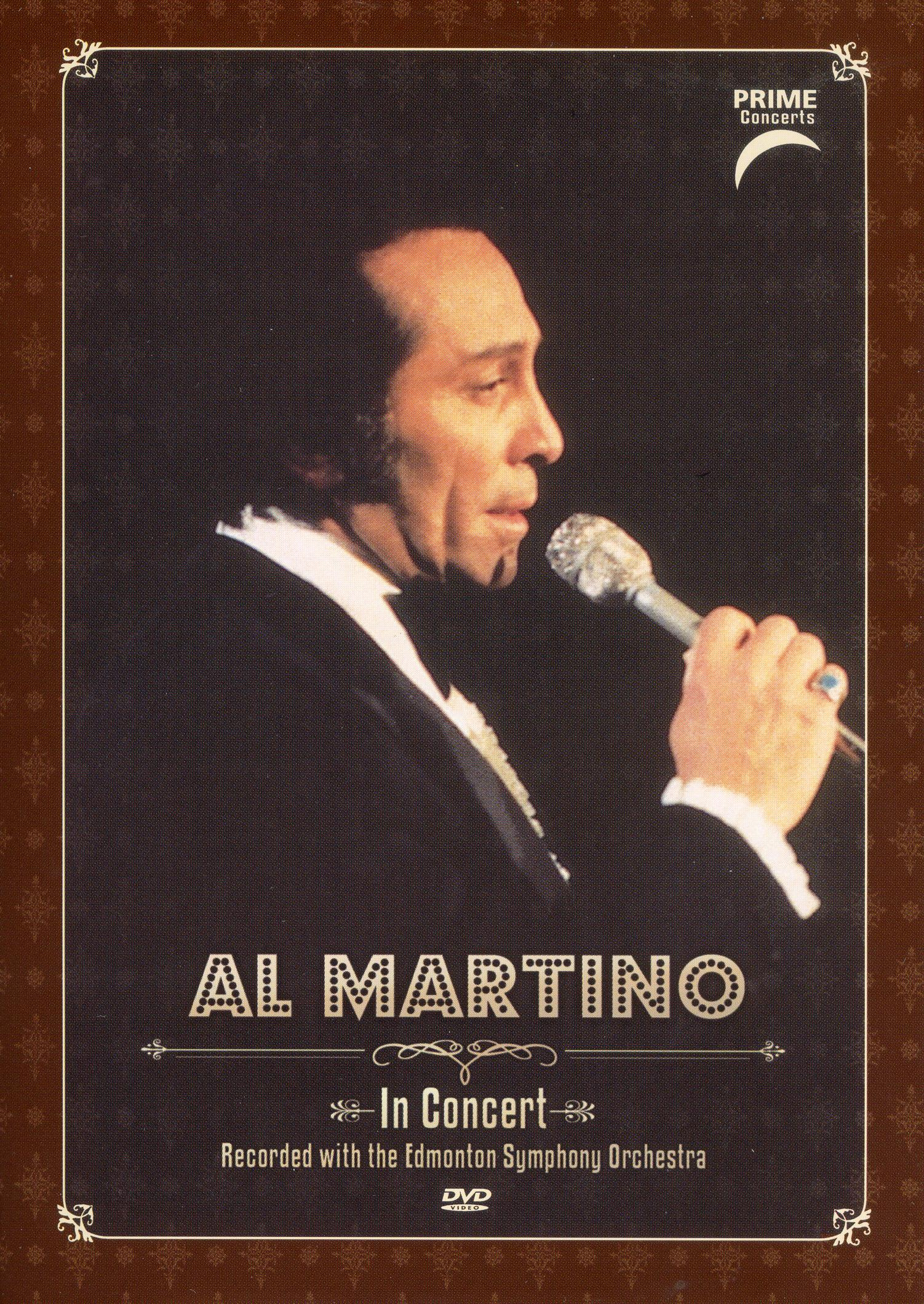 Al Martino: Prime Concerts - In Concert with Edmonton Symphony