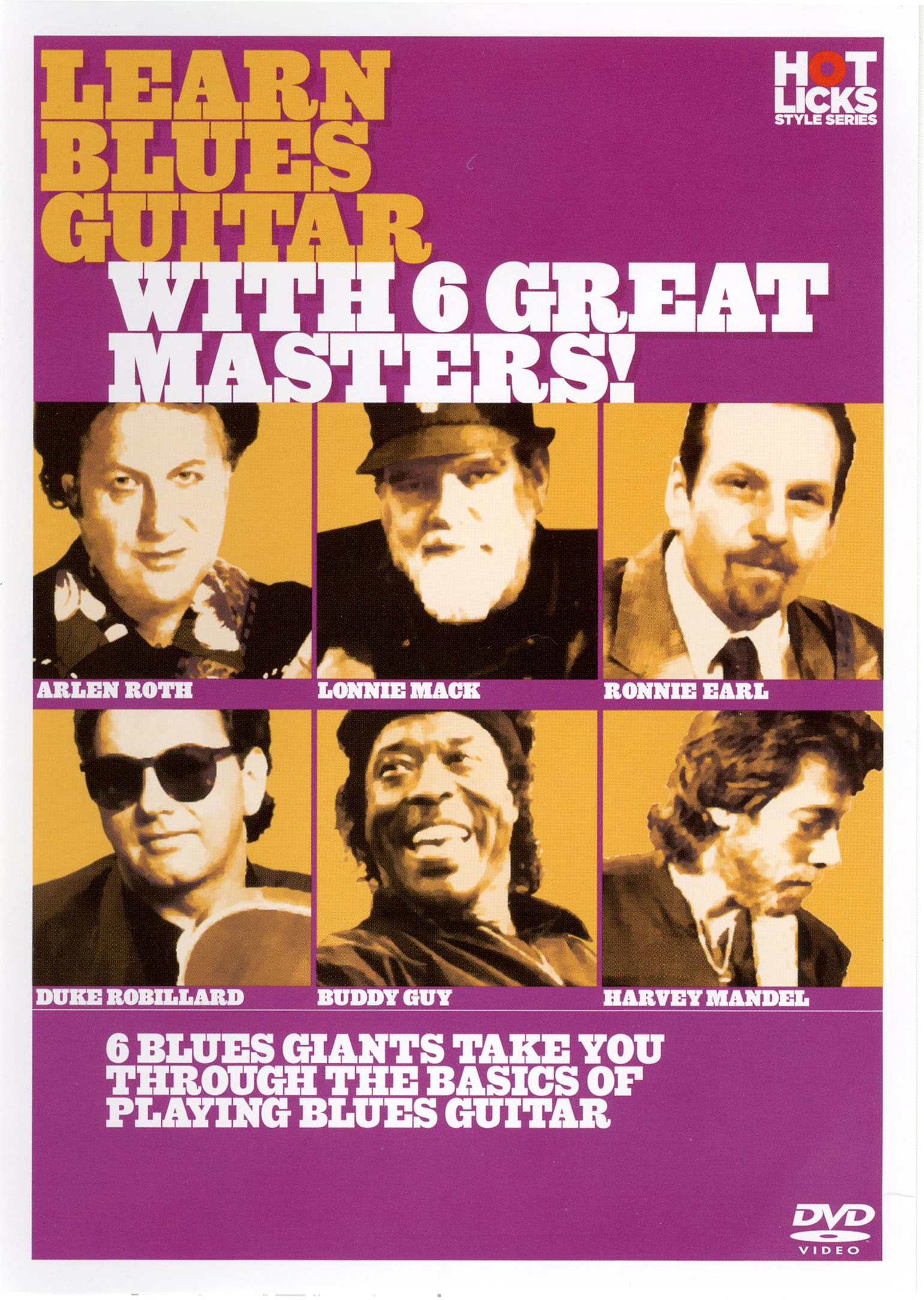 Learn Blues Guitar with 6 Great Masters!