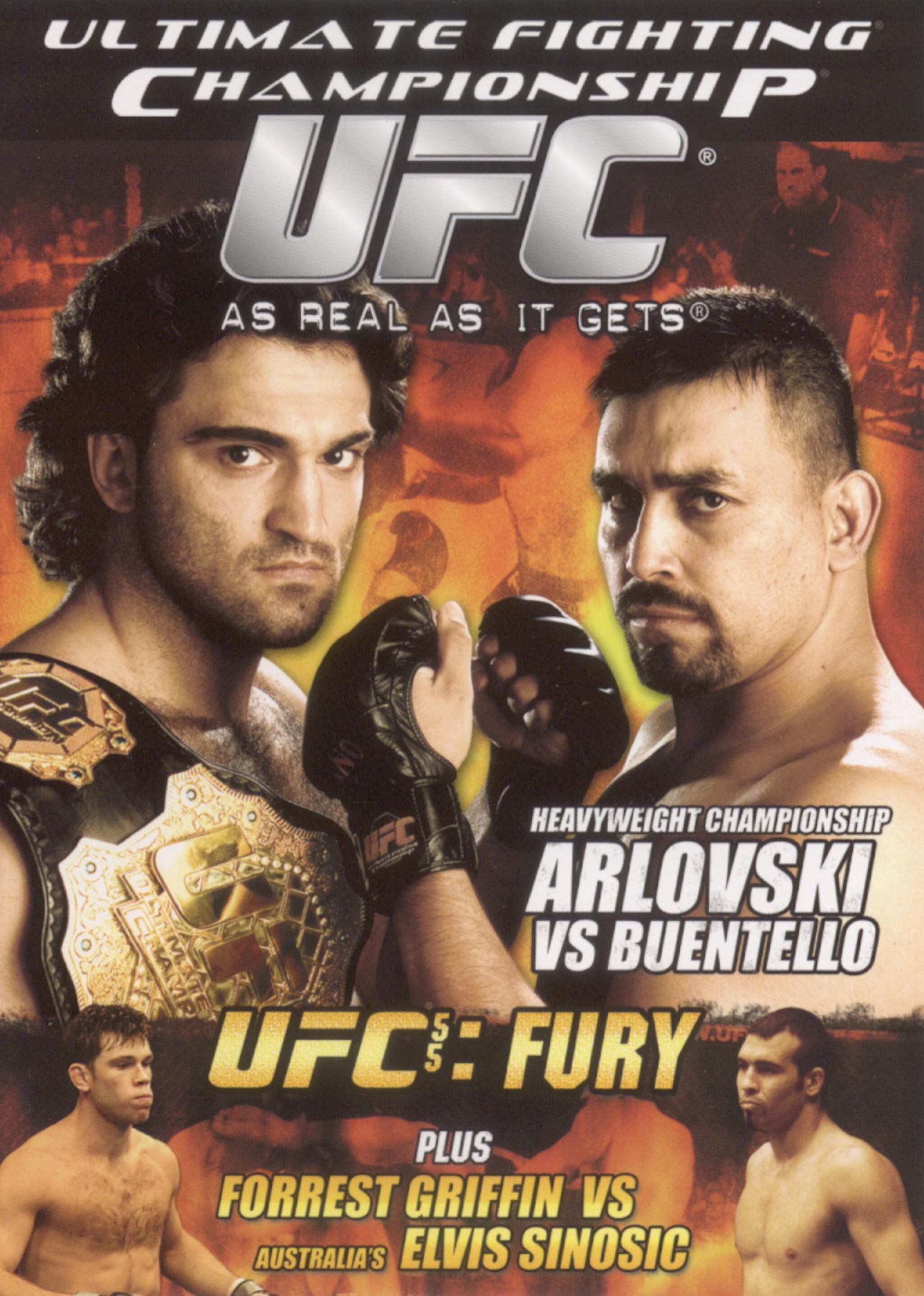 UFC 55: Fury