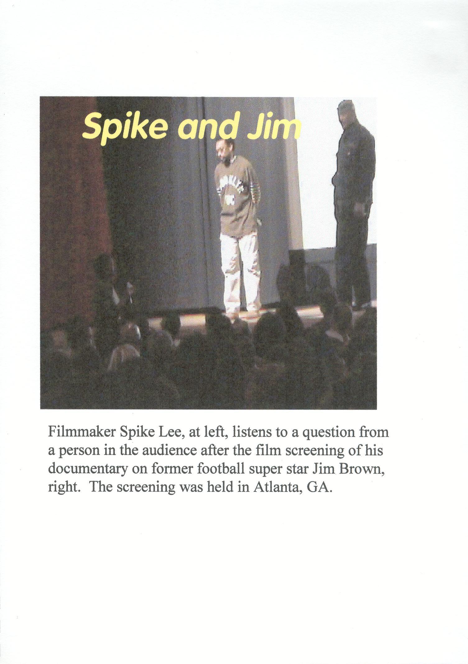 Spike and Jim