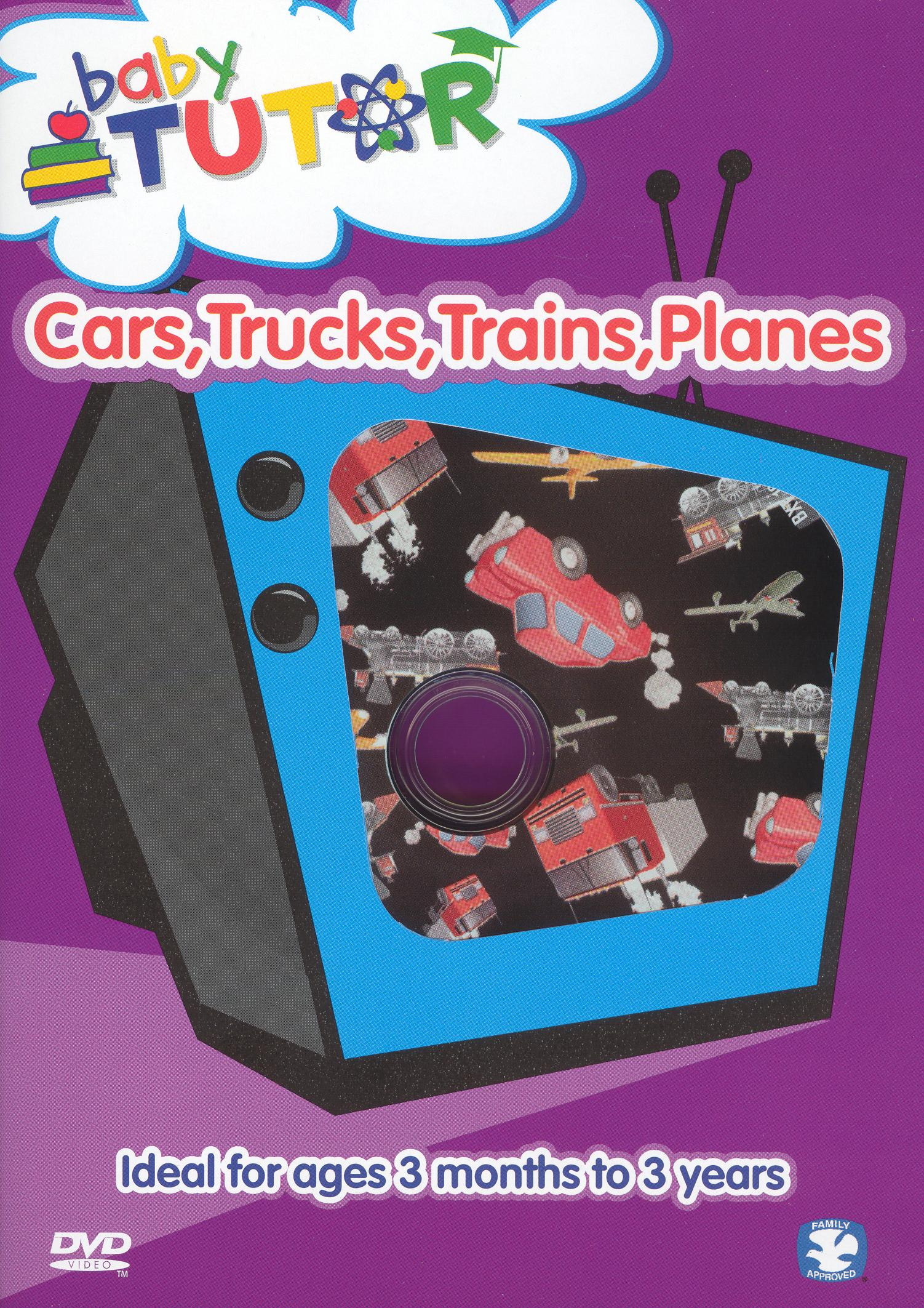 Baby Tutor: Cars, Trucks, Trains, Planes