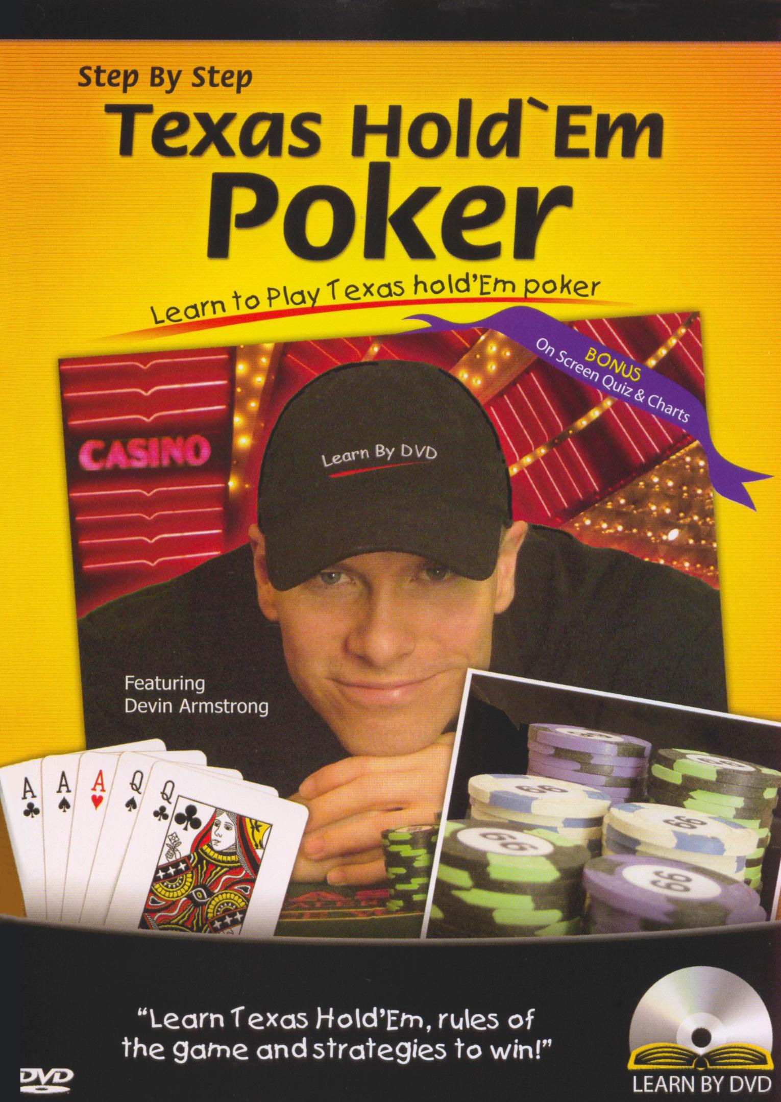 Step by Step: Texas Hold'em Poker