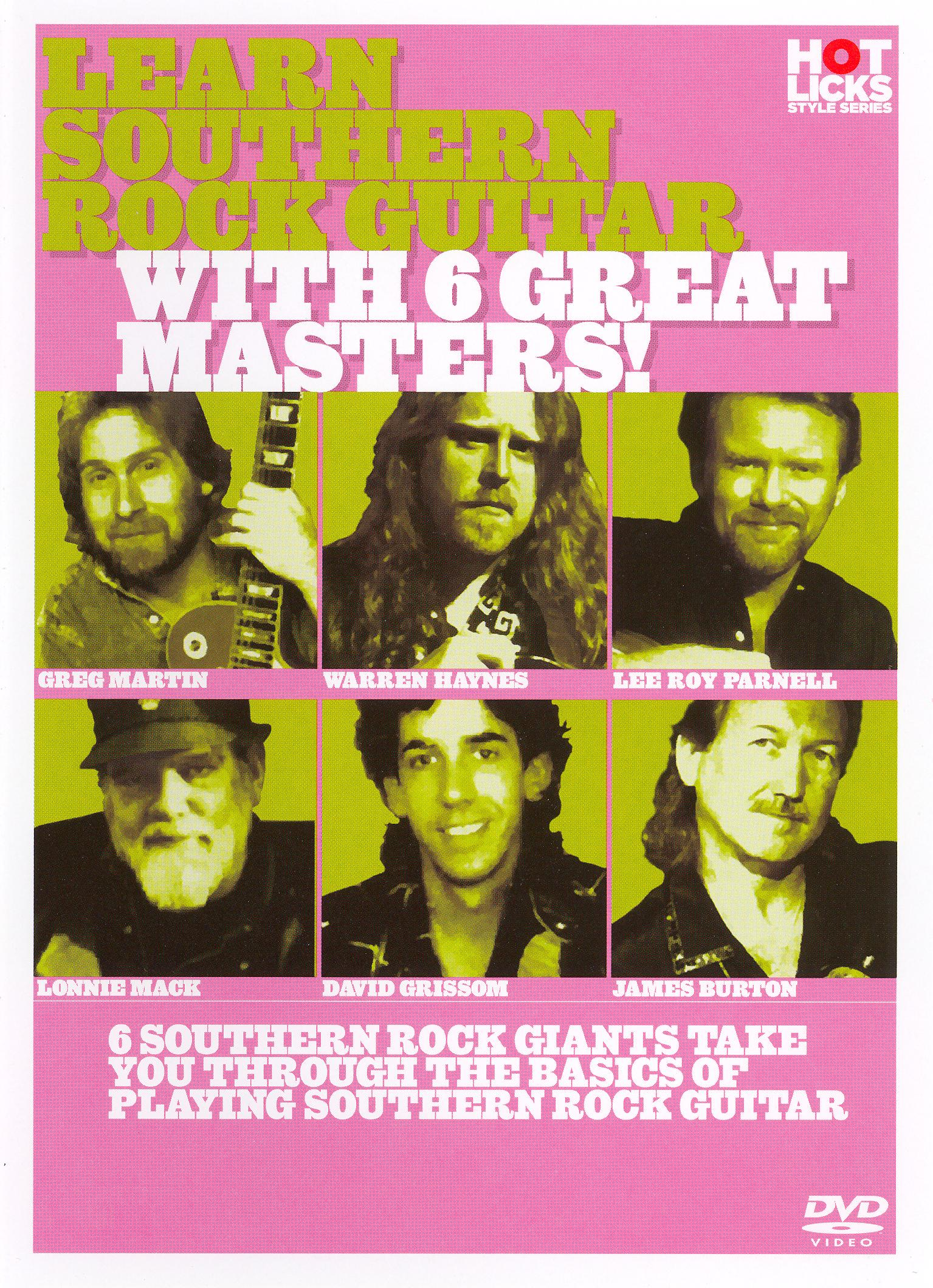 Learn Southern Rock Guitar with 6 Great Masters