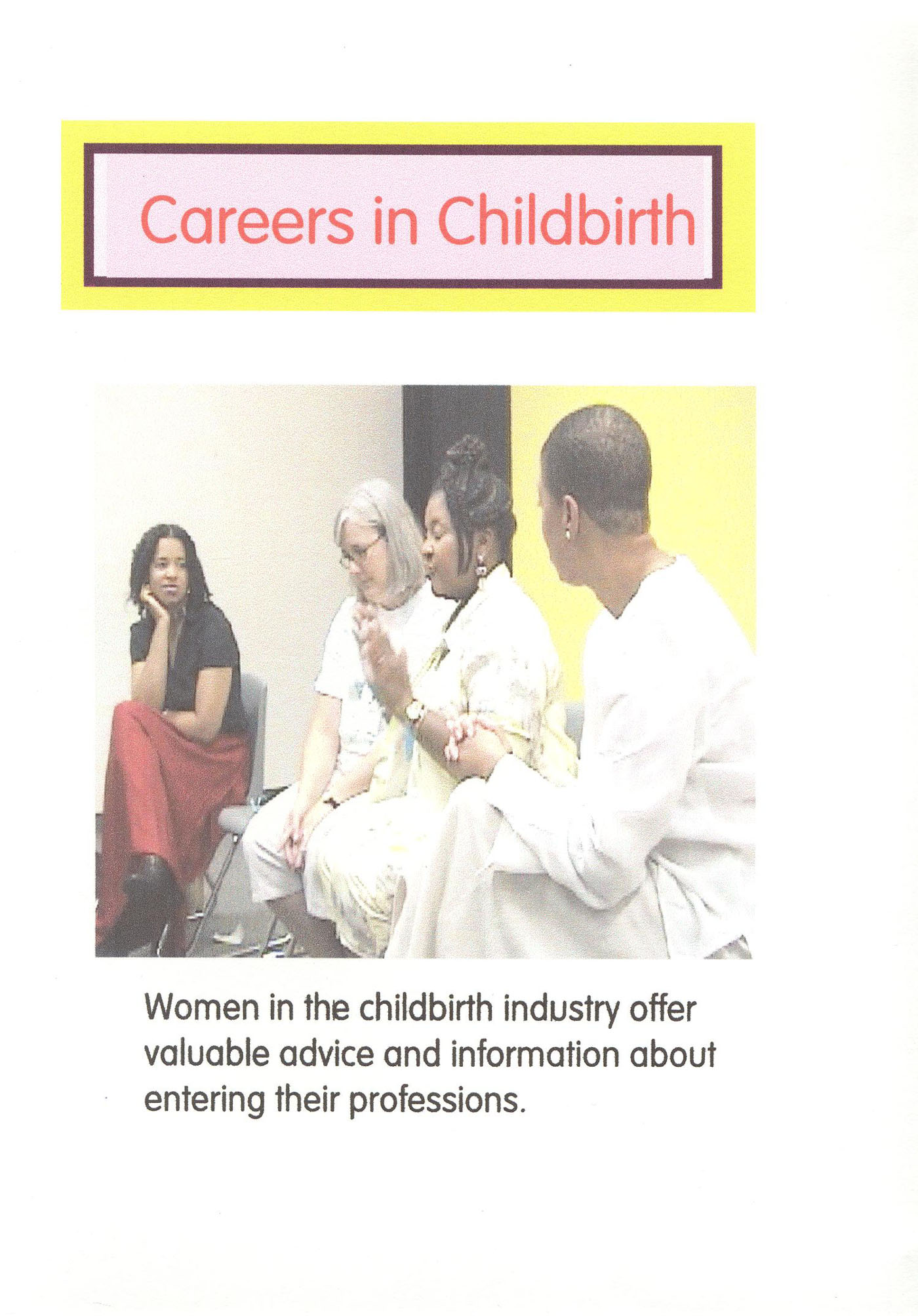 Careers In Childbirth