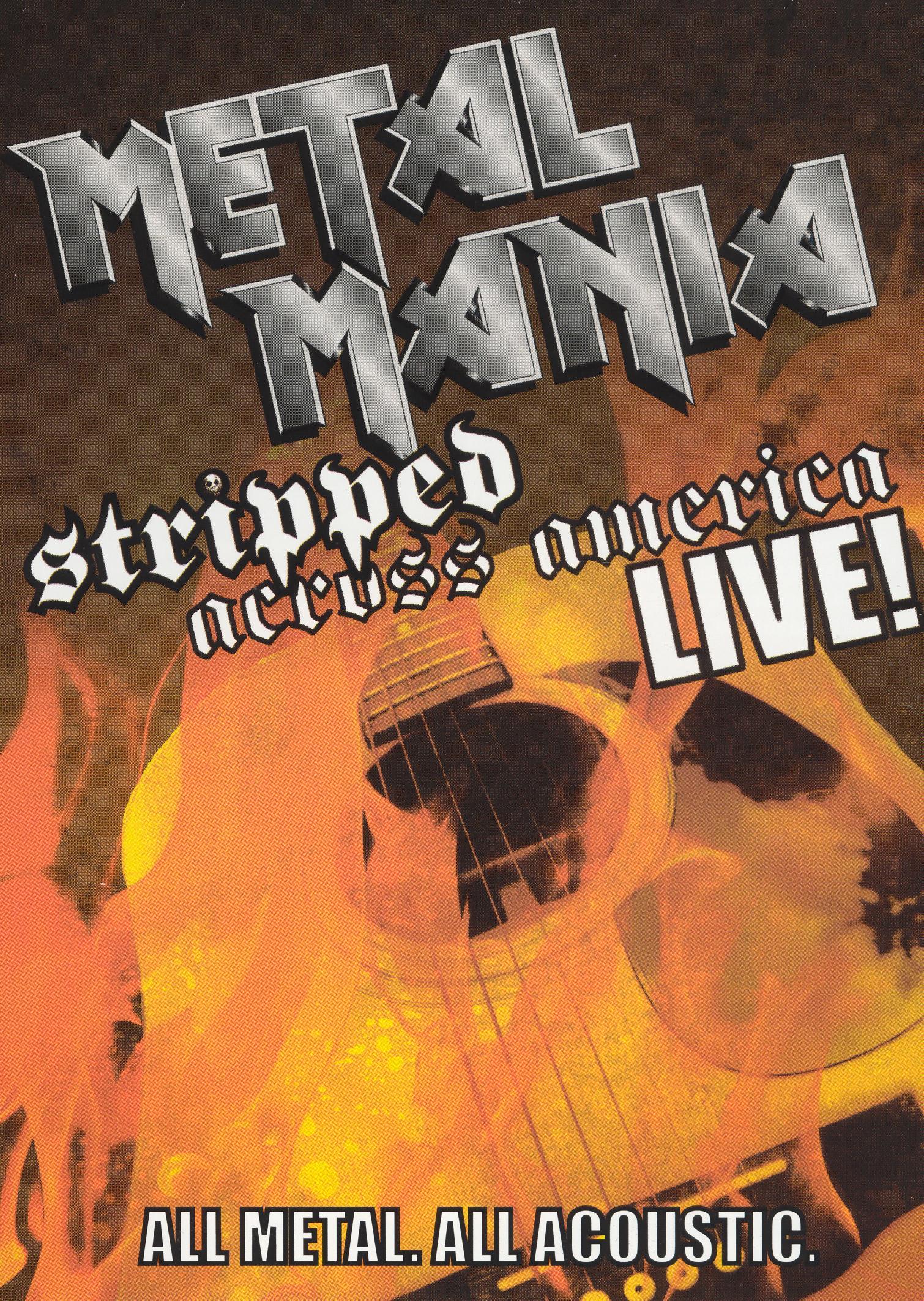 VH1 Metal Mania: Stripped Across America Tour Live