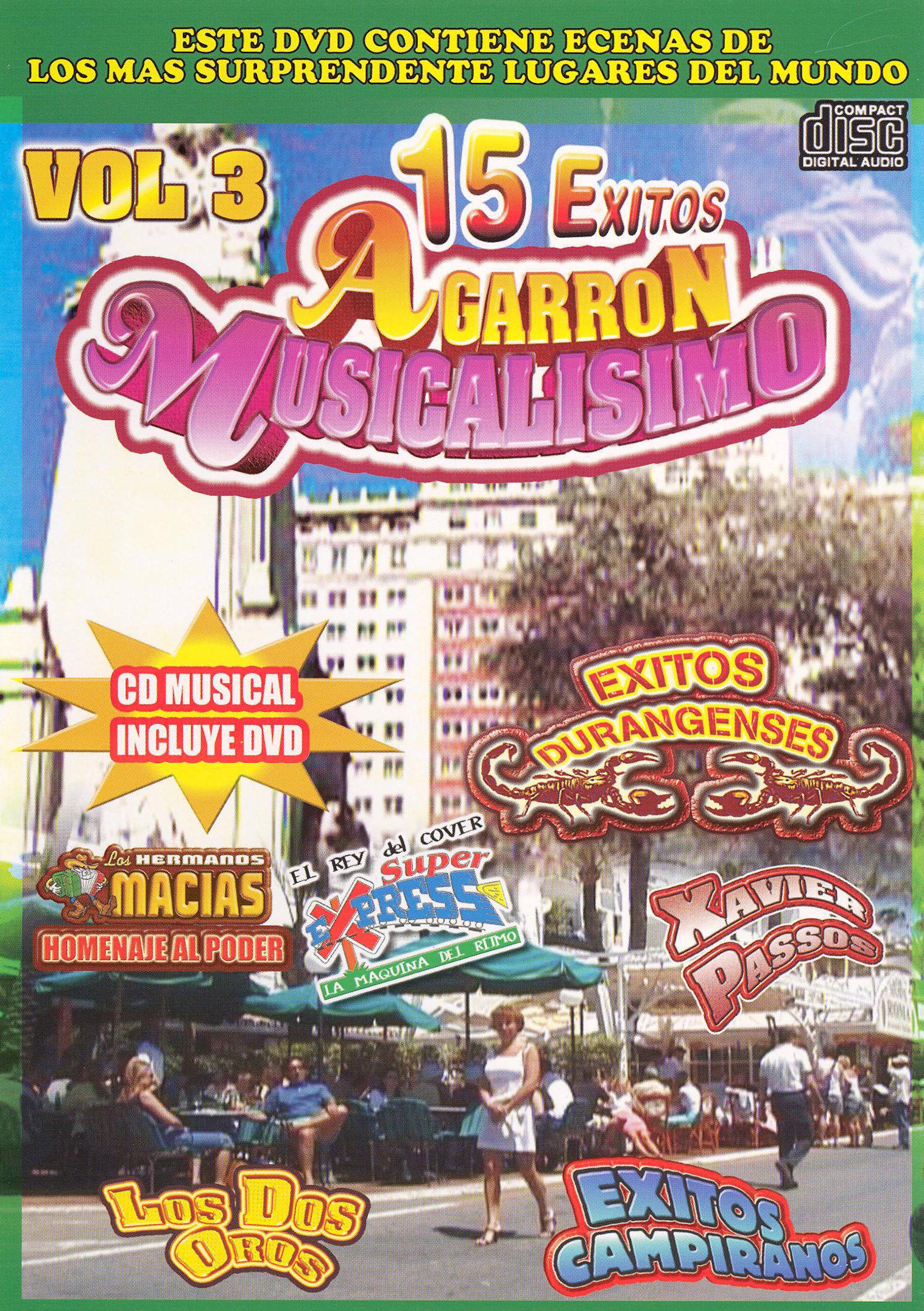 15 Exitos Agarron Musicalisimovol, Vol. 3