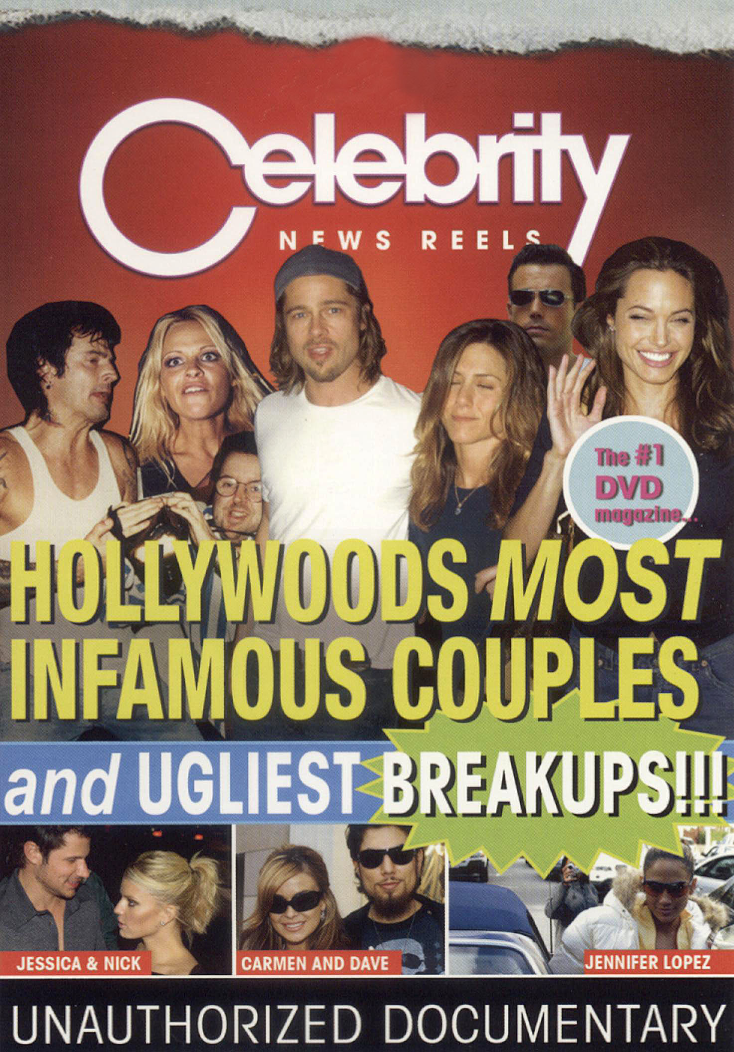 Celebrity News Reels: Hollywood's Most Infamous Couples and Ugliest Breakups