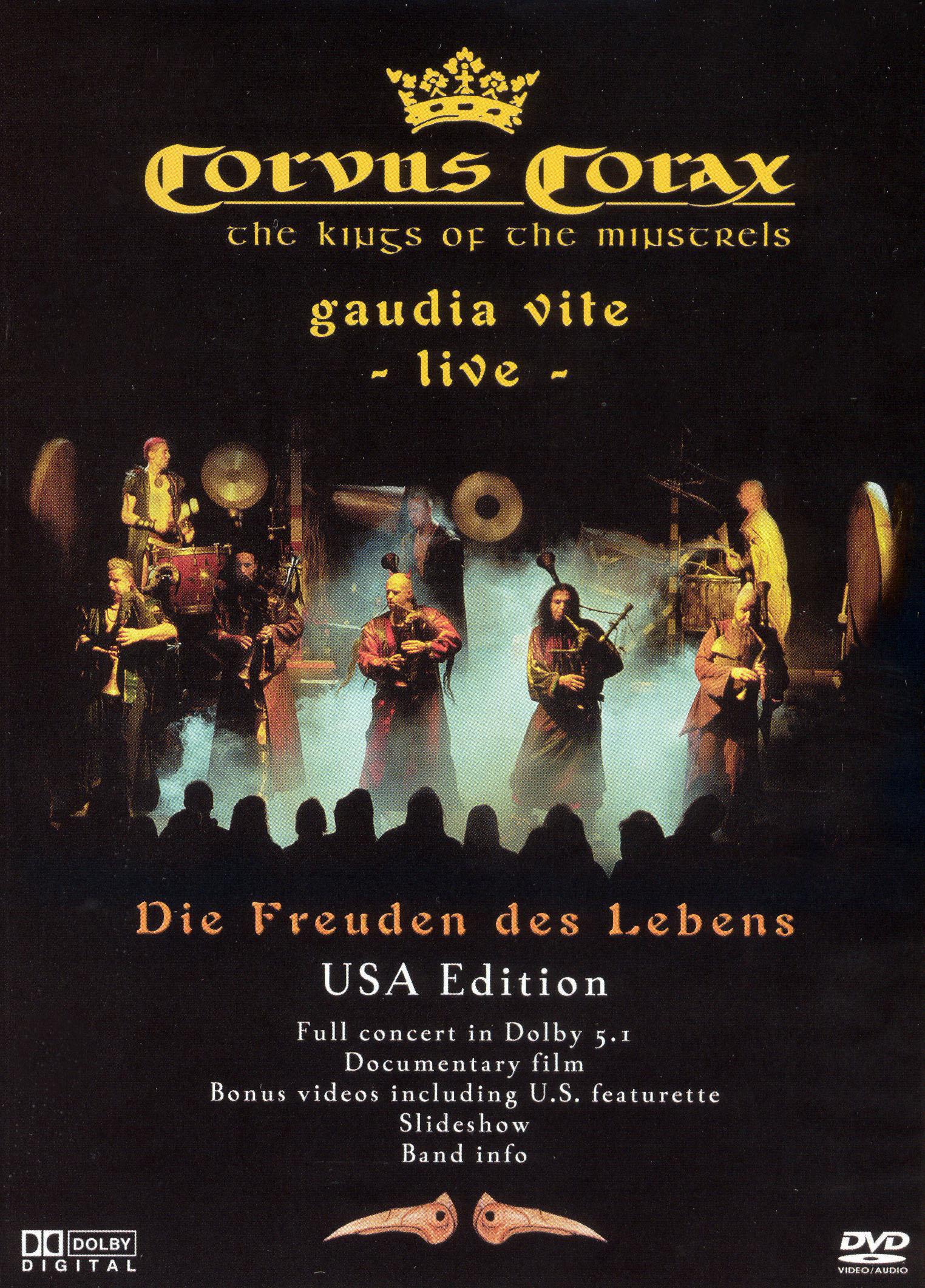 Corvus Corax: Gaudia Vite Live