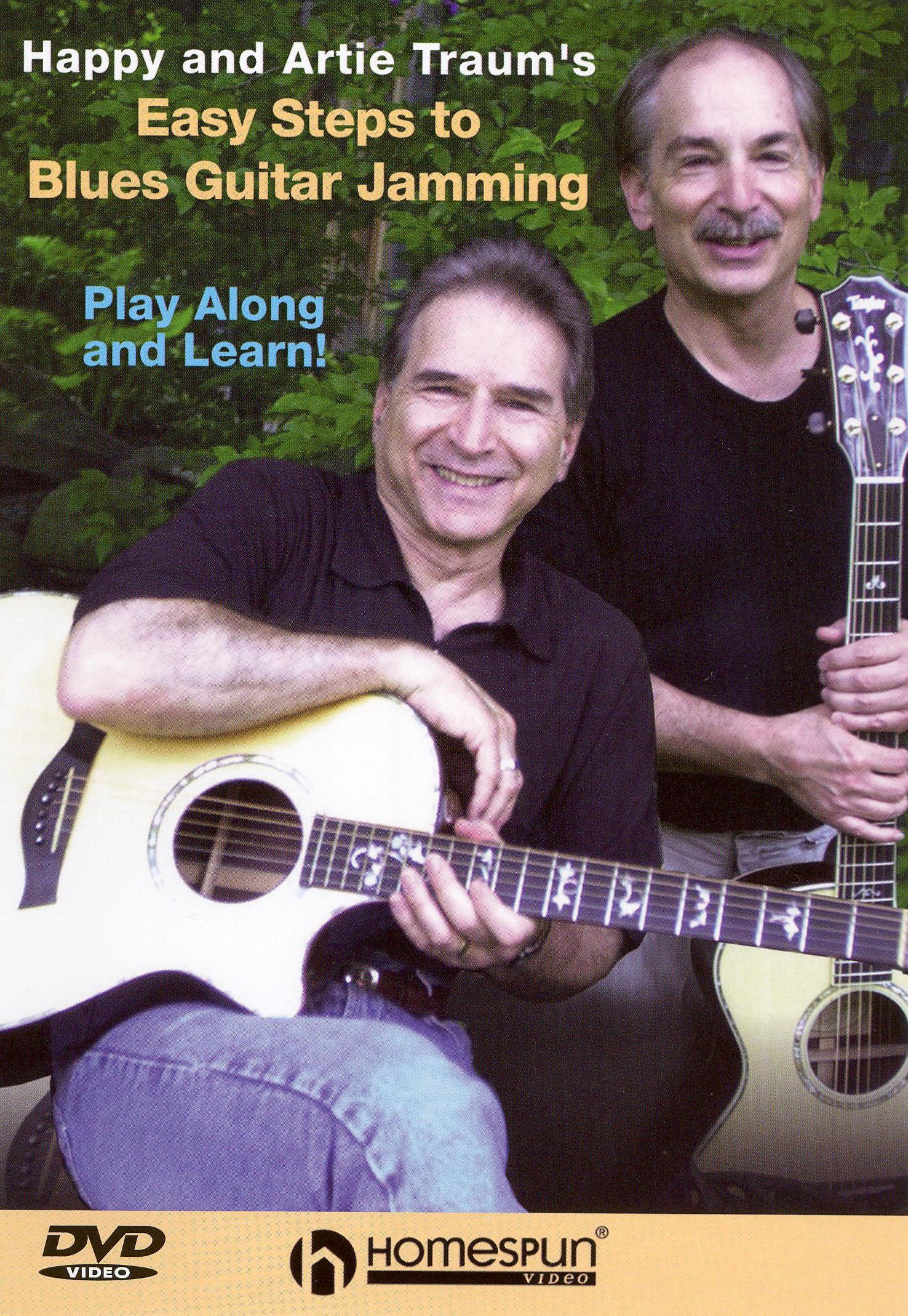 Happy Traum/Artie Traum: Easy Steps to Blues Guitar Jamming