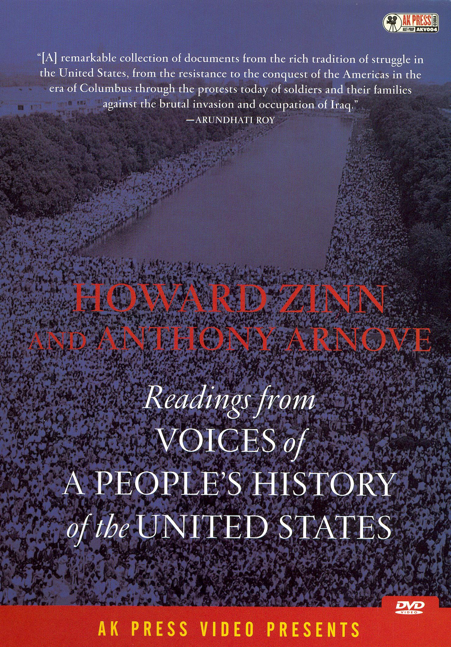 howard zinn's a peoples history of The united states government's support of slavery was based on an overpowering practicality in 1790, a thousand tons of cotton were being produced every.