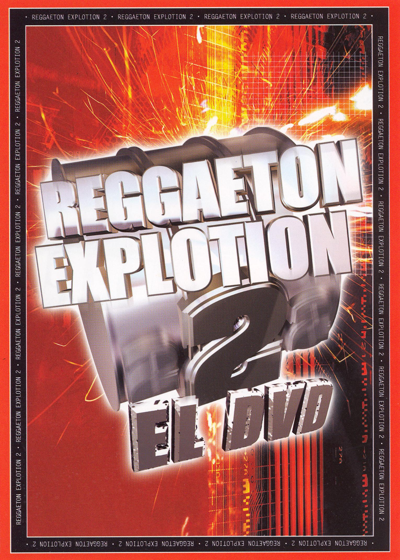 Reggaeton Explosion, Vol. 2 el DVD