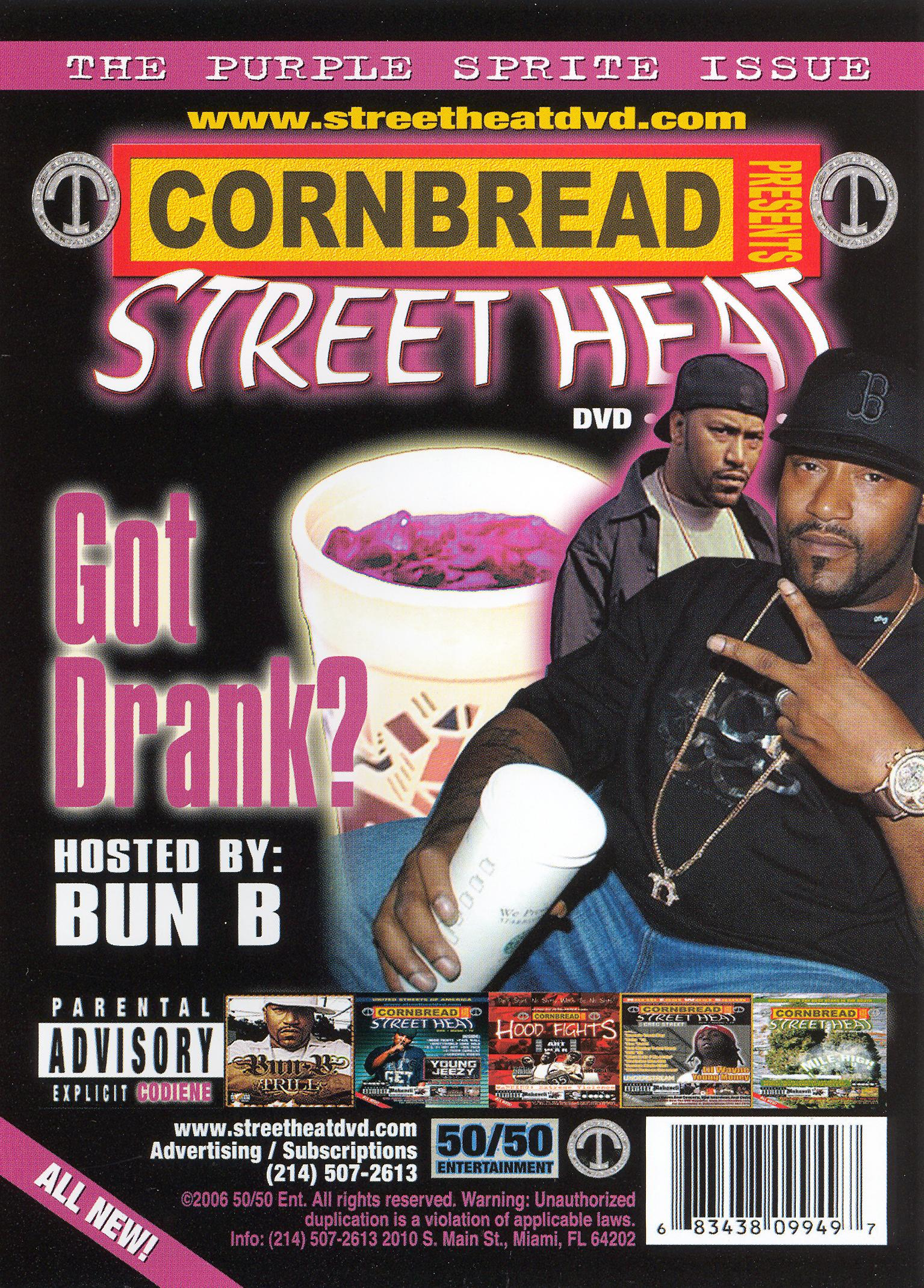 Cornbread Presents Street Heat, Vol. 17: Got Drank