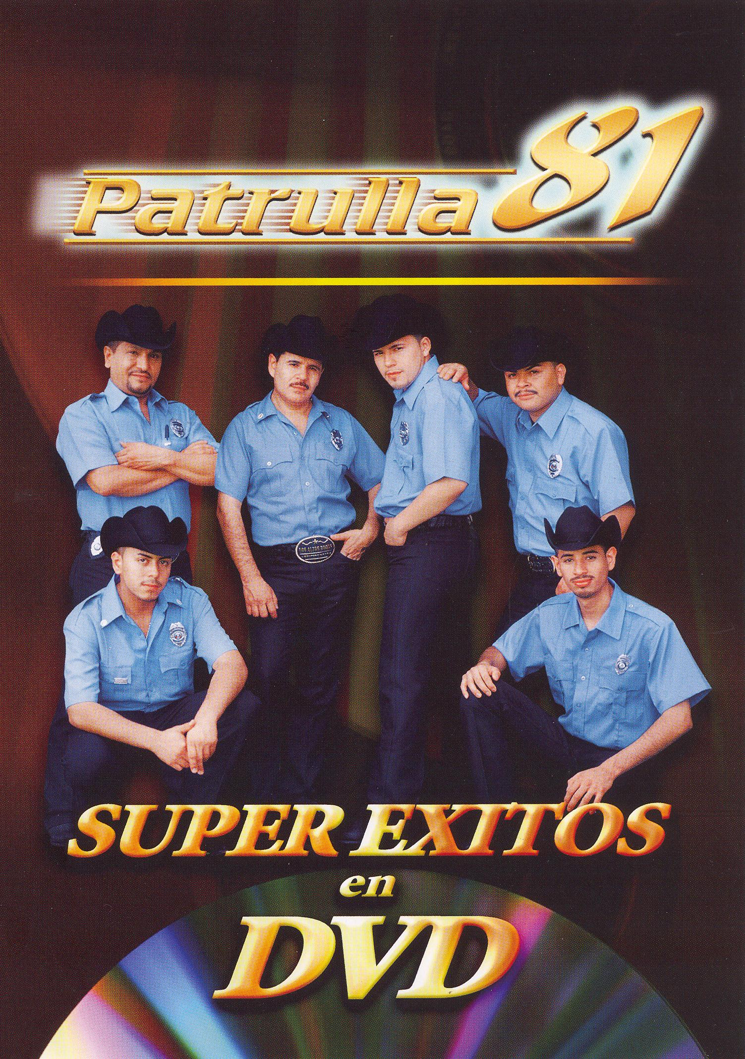 Patrulla 81: Super Exitos en DVD