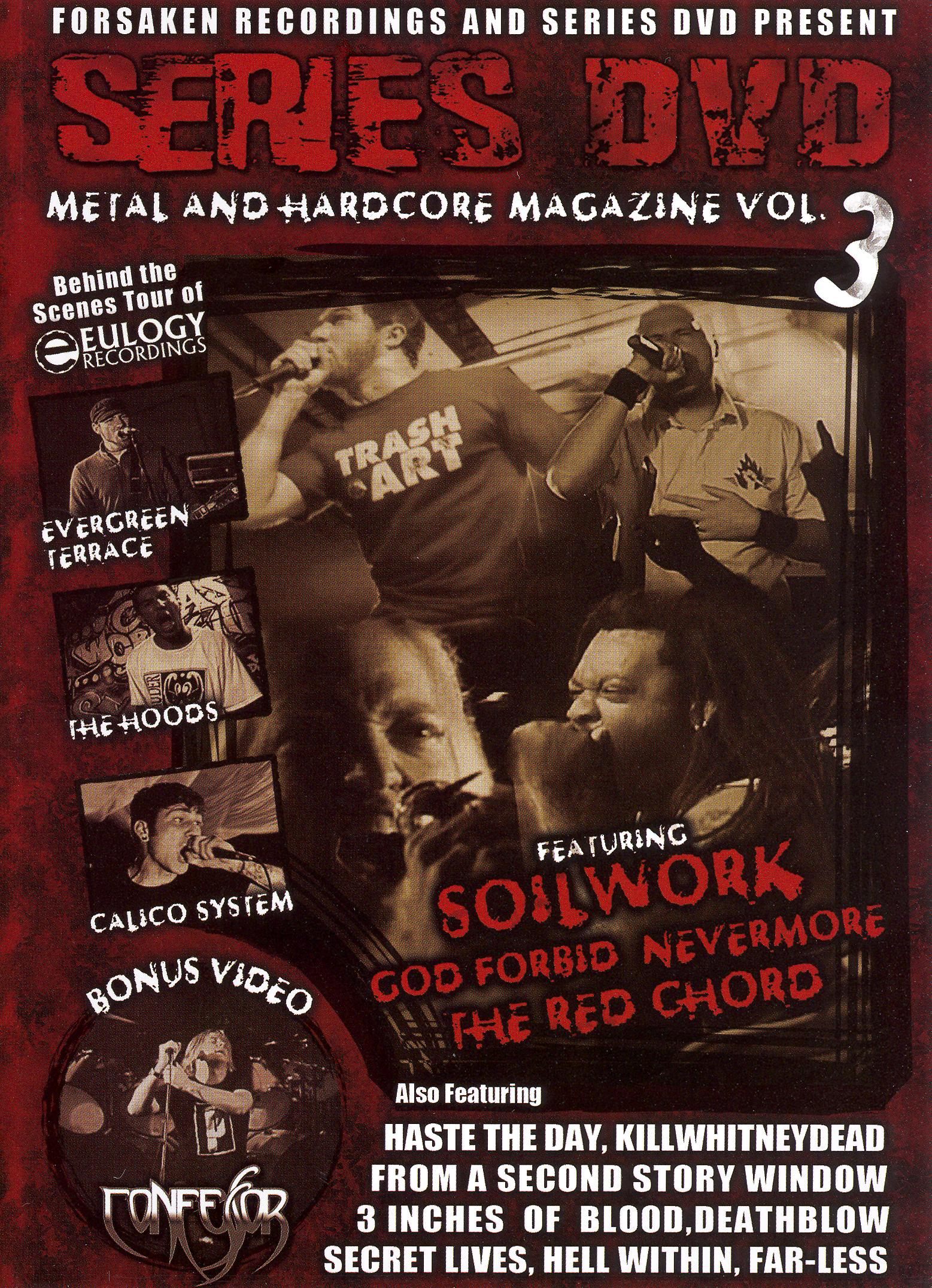 Series DVD: Metal and Hardcore, Vol. 3