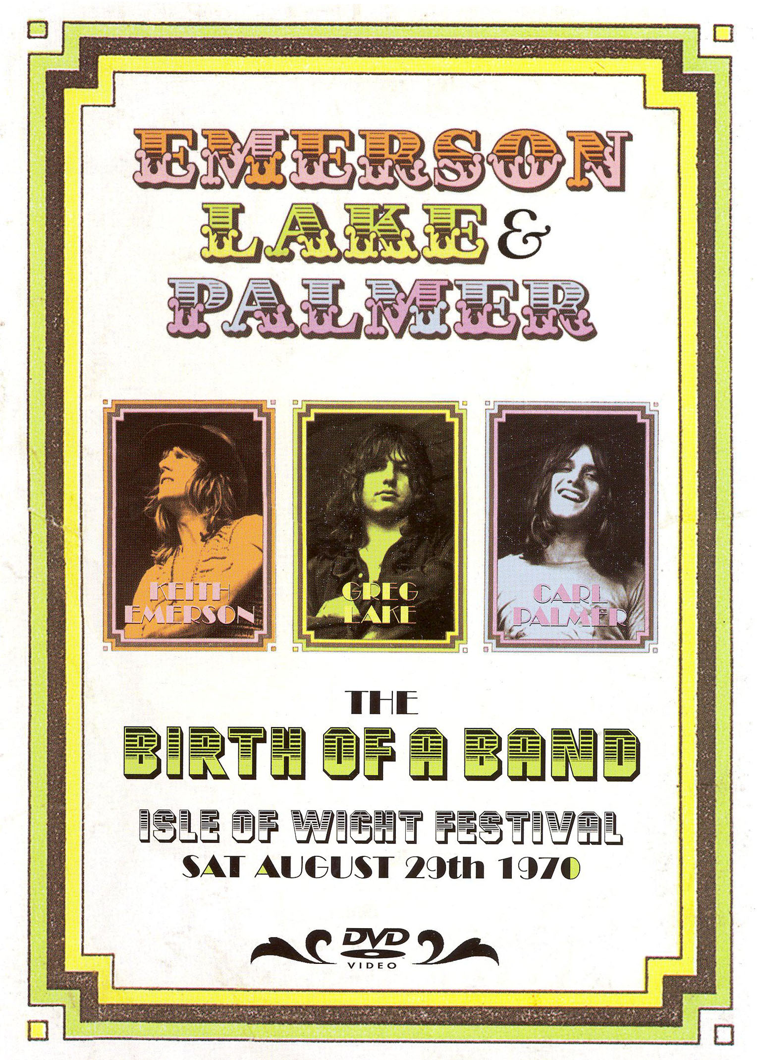 Emerson, Lake & Palmer: Birth of a Band - Live at the Isle of Wight