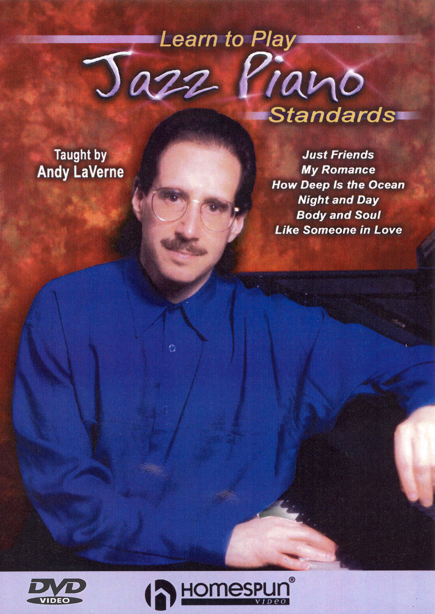Andy LaVerne: Learn to Play Jazz Piano Standards