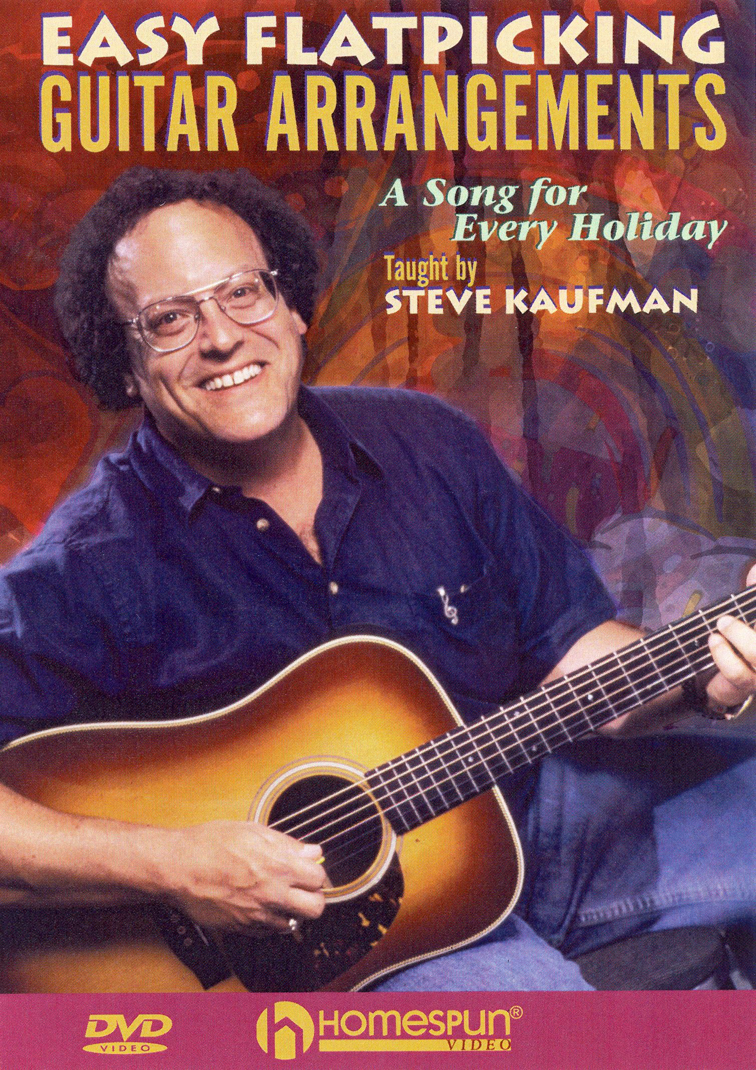 Steve Kaufman: Easy Flatpicking Guitar Arrangements