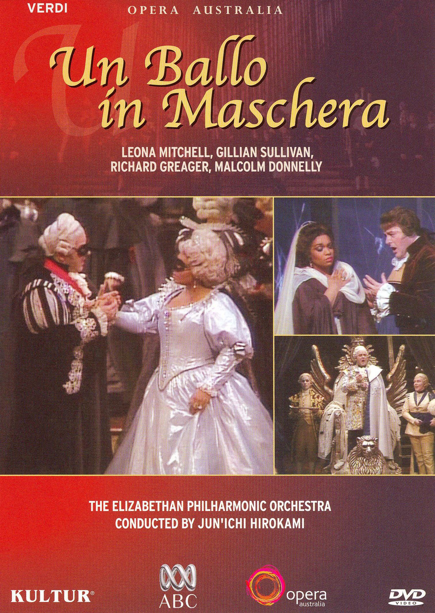 Un Ballo in Maschera (Opera Australia)