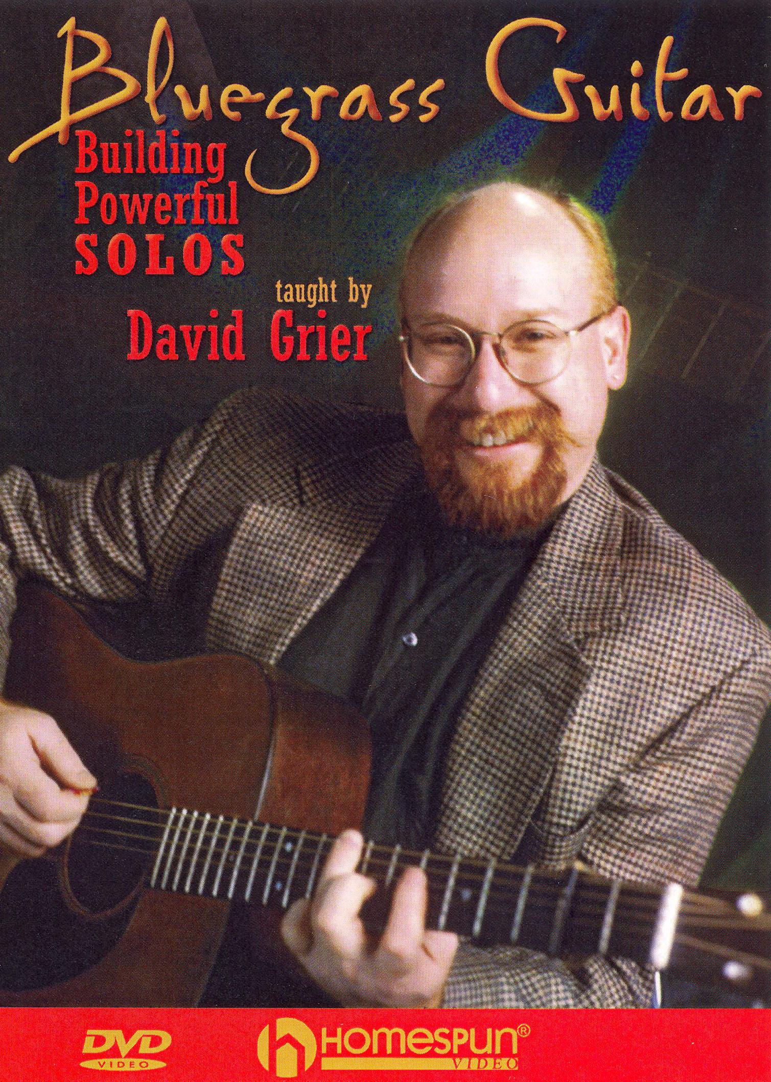 David Grier: Bluegrass Guitar