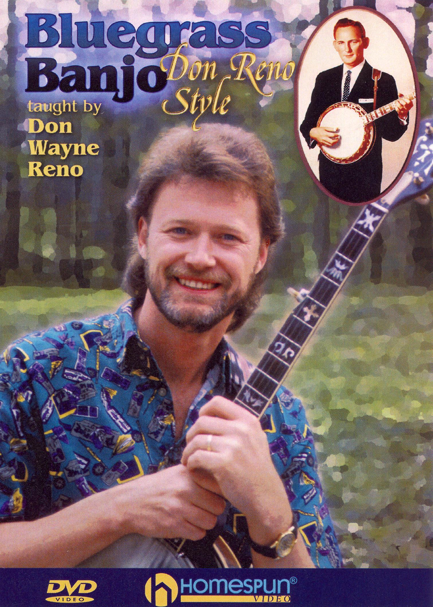 Don Wayne Reno: Bluegrass Banjo