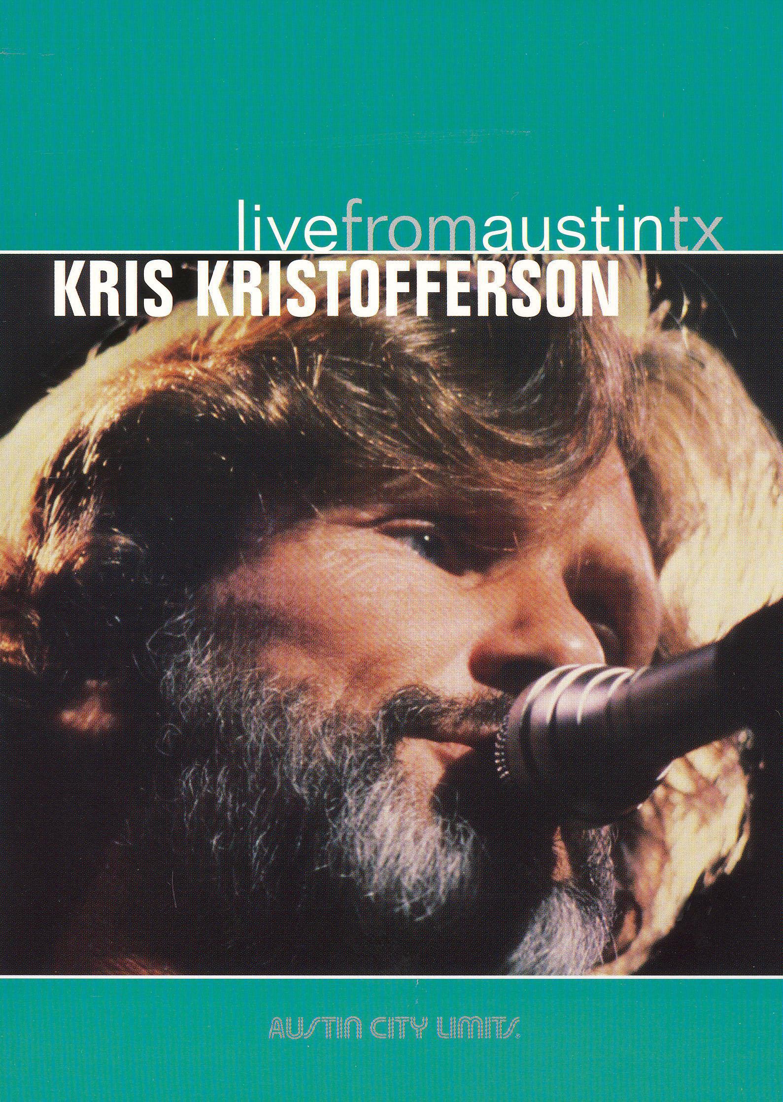 Live From Austin TX: Kris Kristofferson