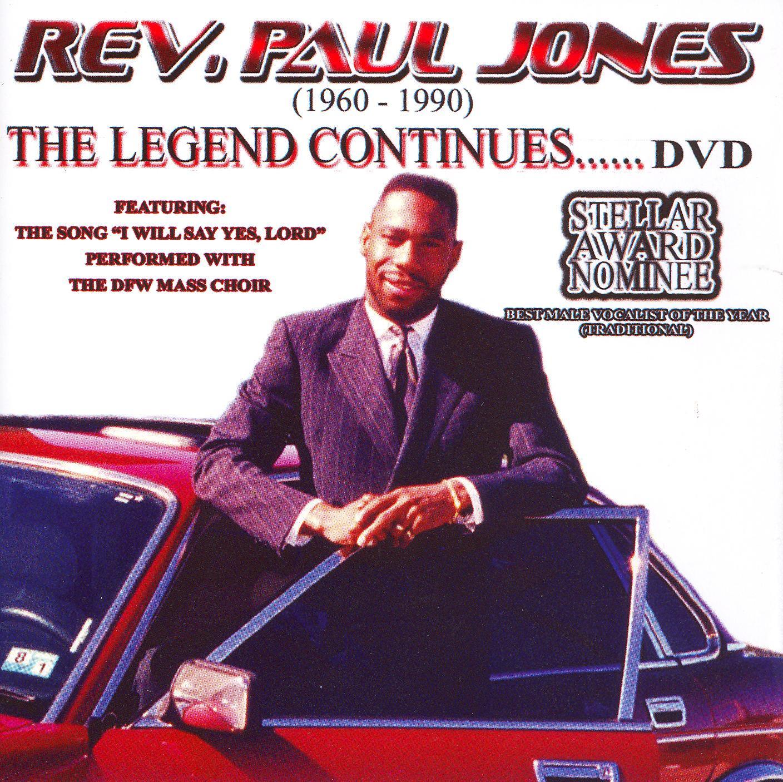 Rev. Paul Jones: The Legend Continues...